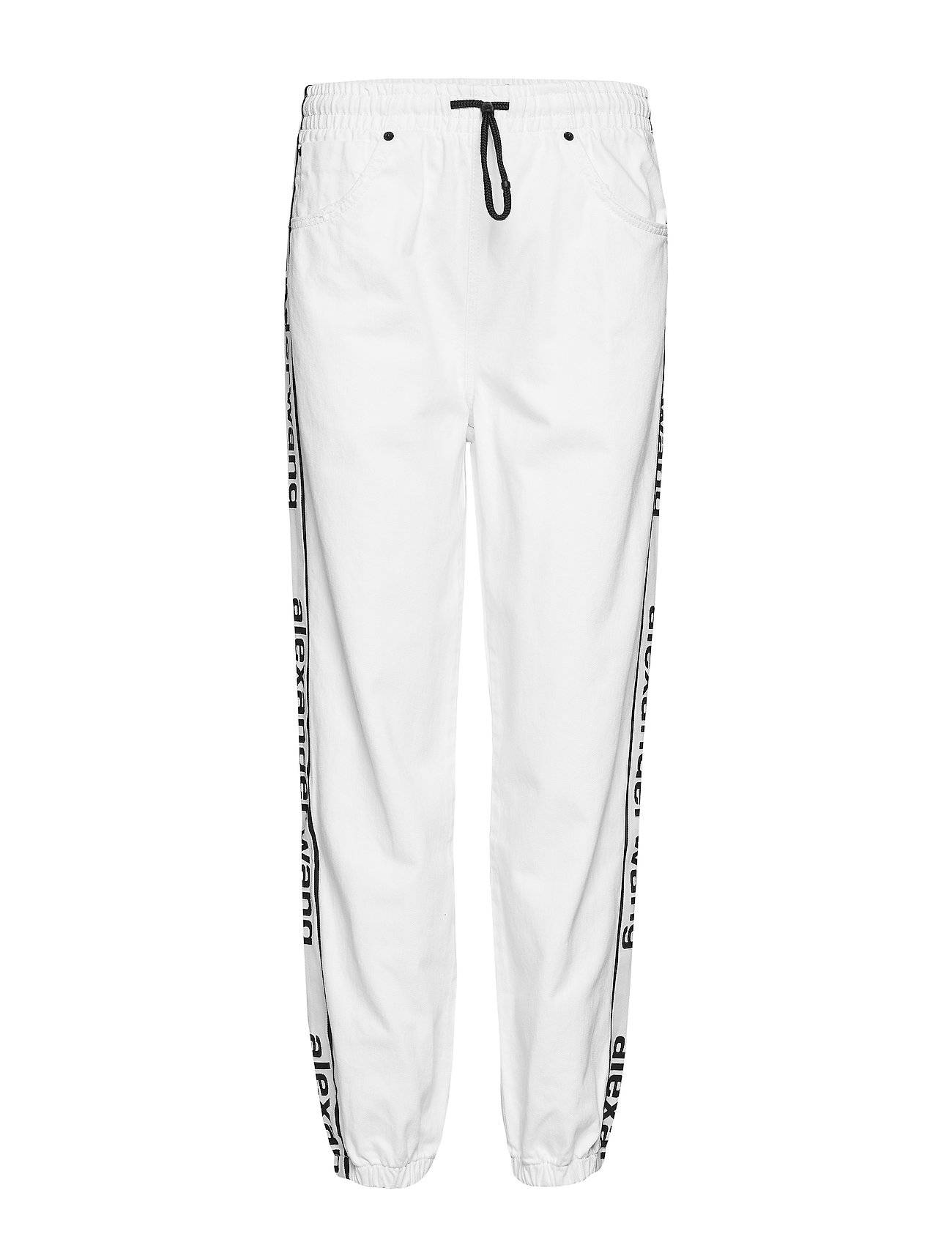 T by Alexander Wang Track Pant - Optic White