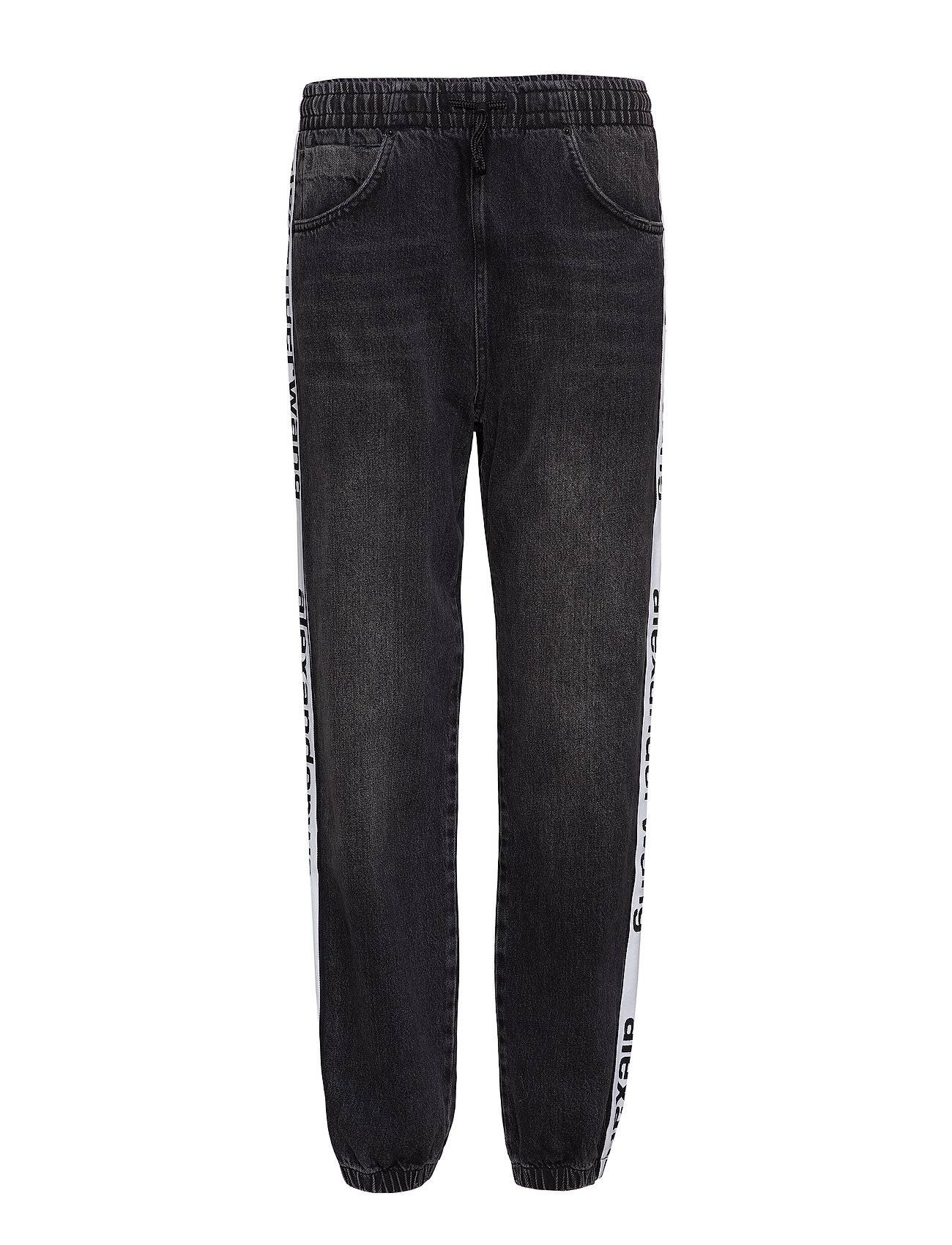 T by Alexander Wang Track Pant - Grey Aged