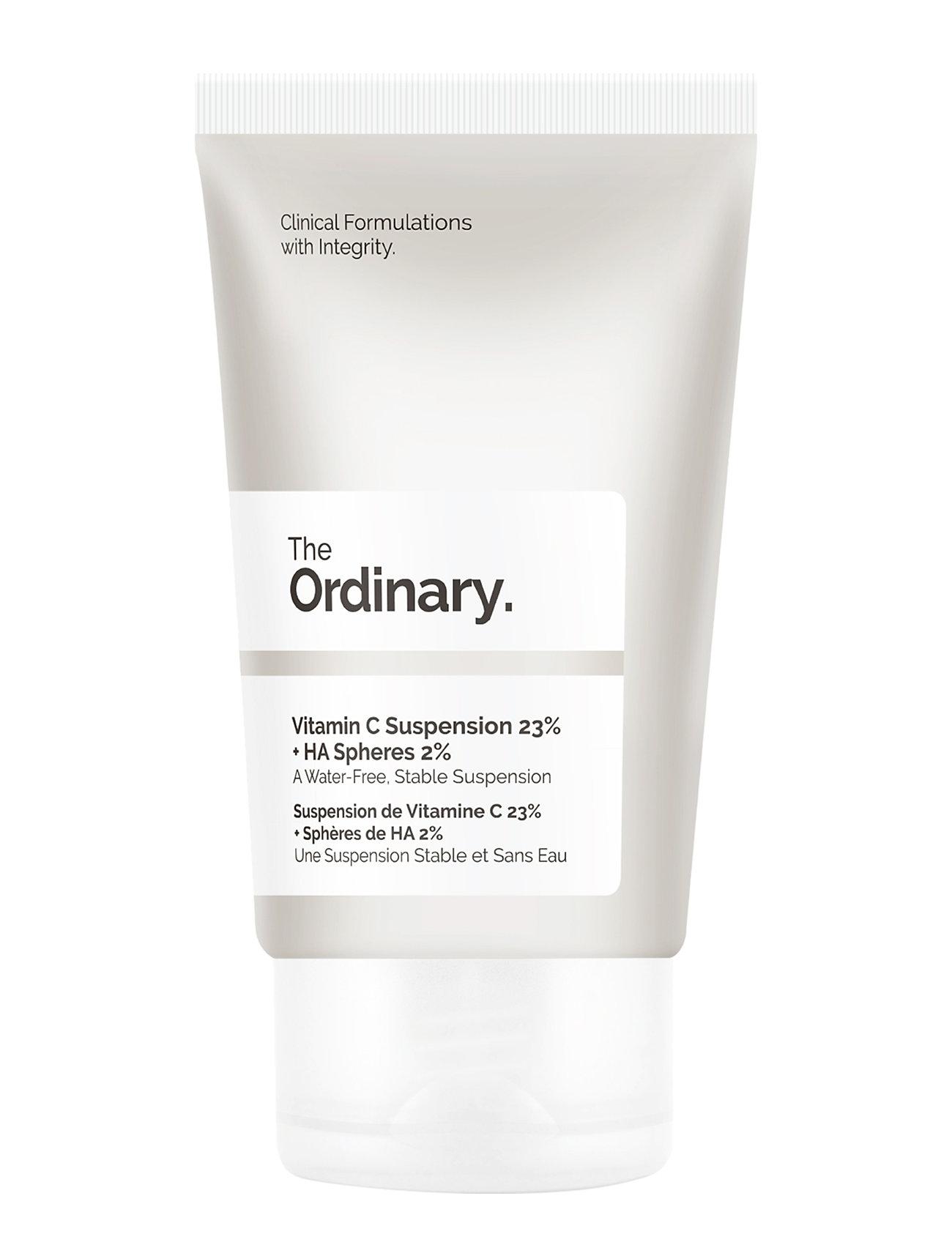 The Ordinary Vitamin C Suspension 23% + Ha Spheres 2% Seerumi Kasvot Ihonhoito Nude The Ordinary