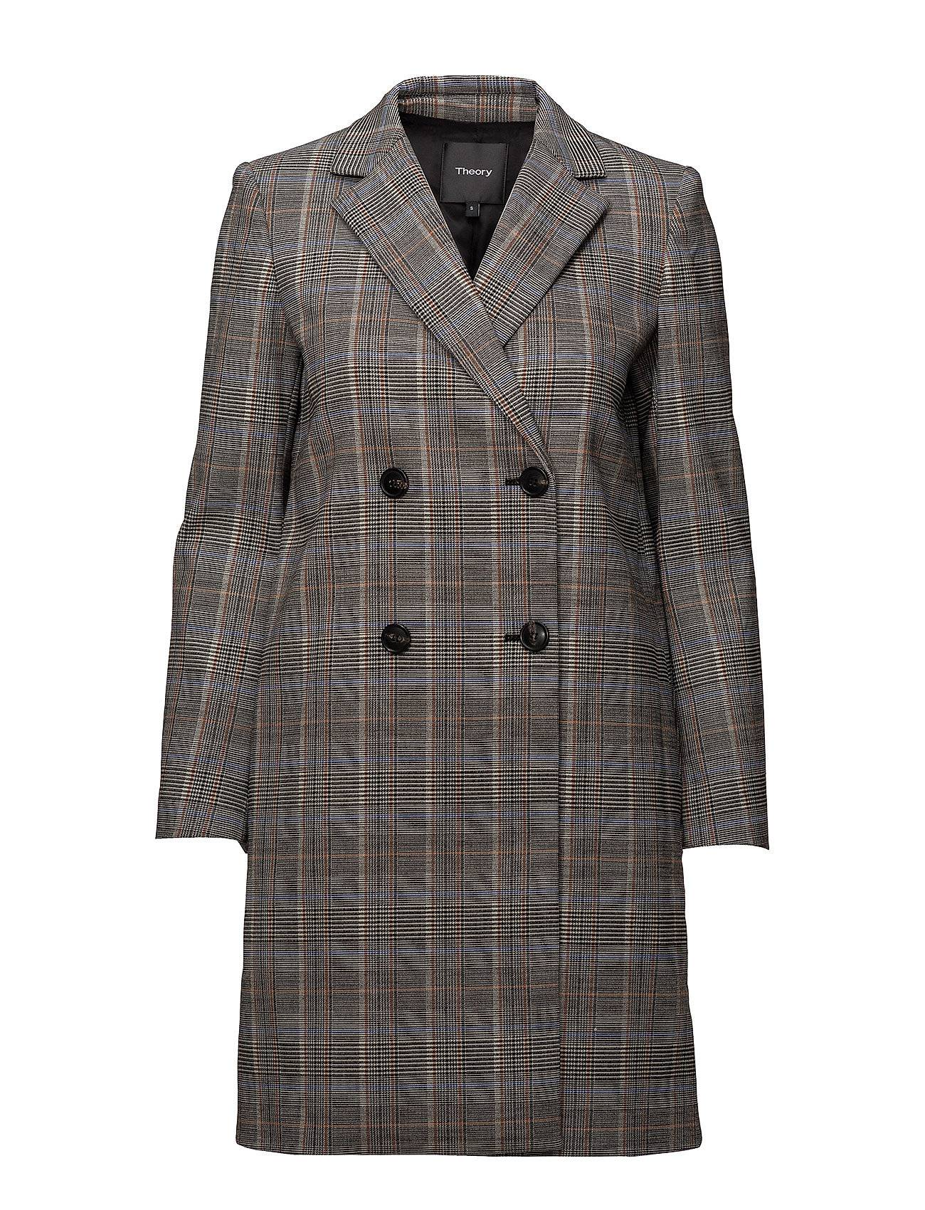 Theory Square Coat.Autumn P