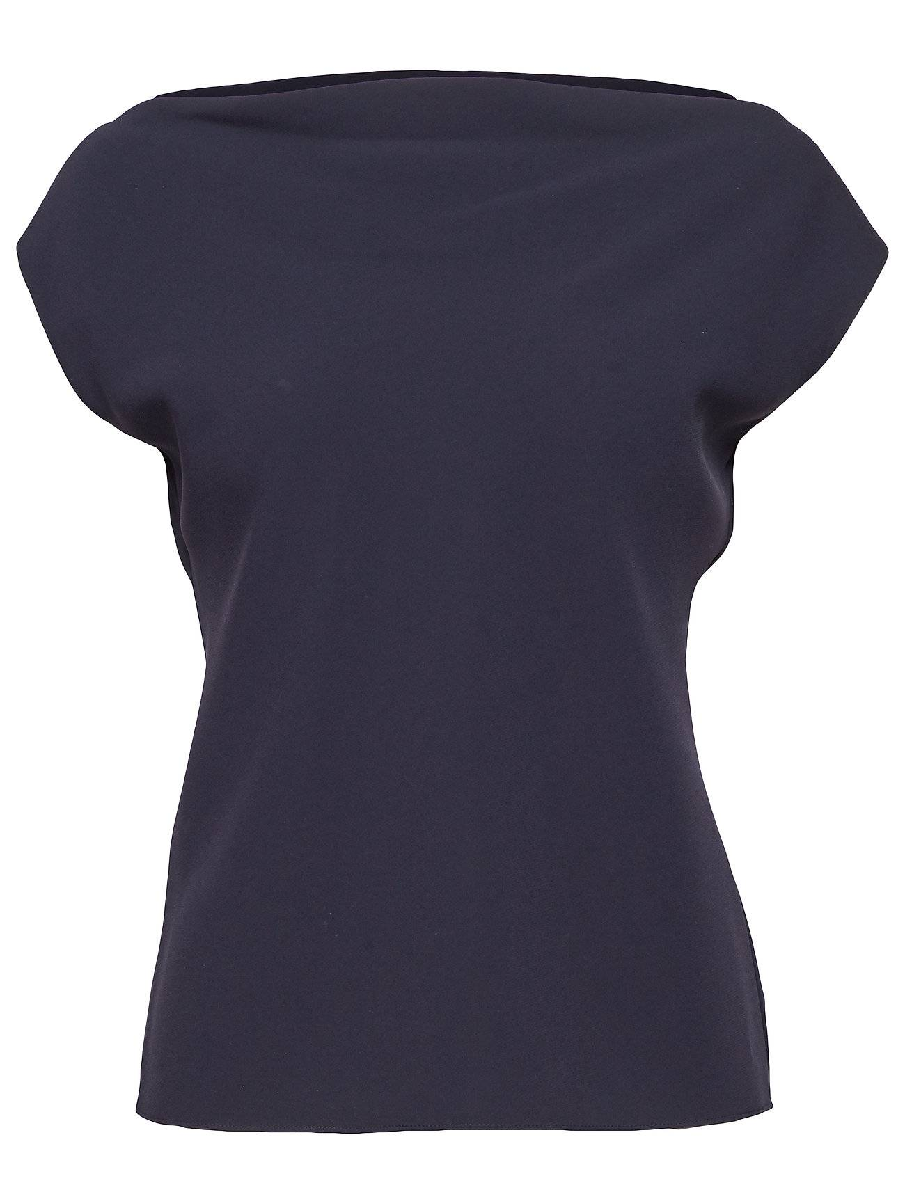 Theory Draped Boatneck Top