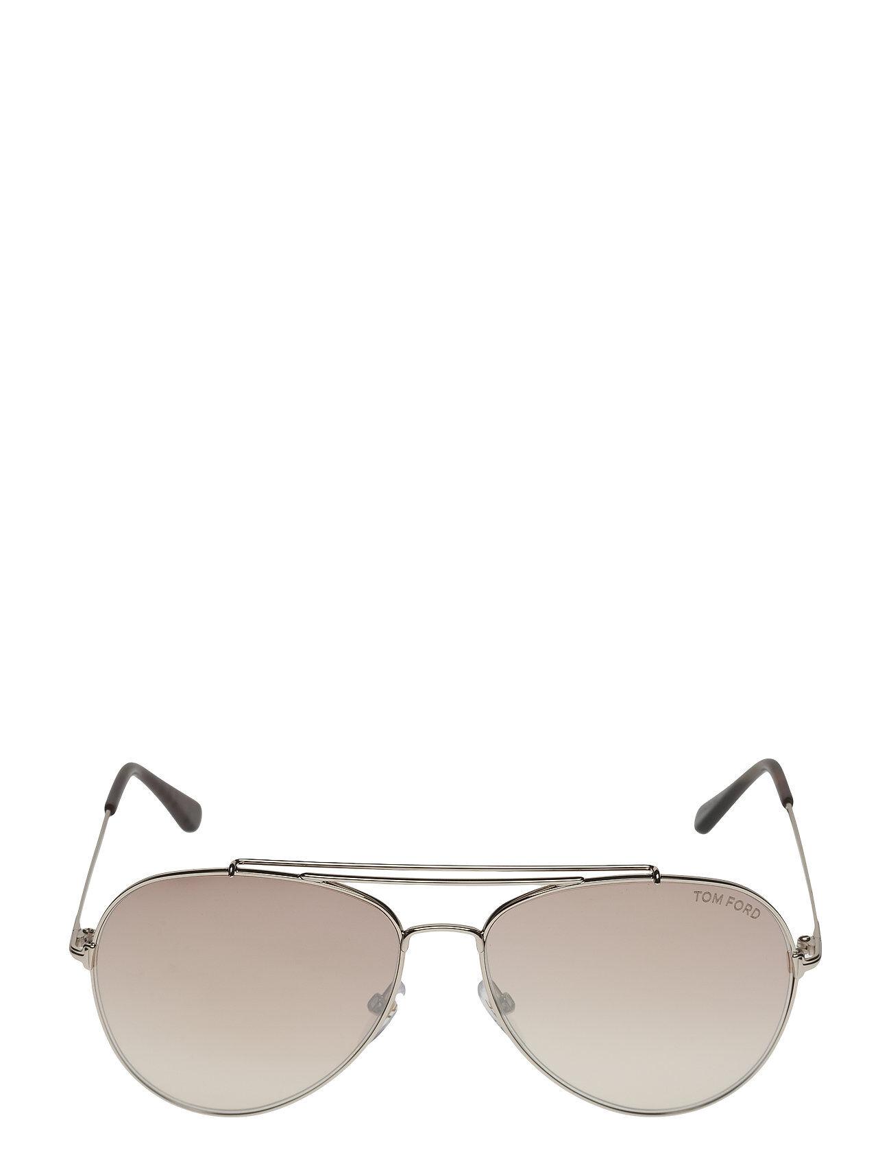 Image of Tom Ford Sunglasses Tom Ford Indiana Pilottilasit Aurinkolasit Kulta Tom Ford Sunglasses