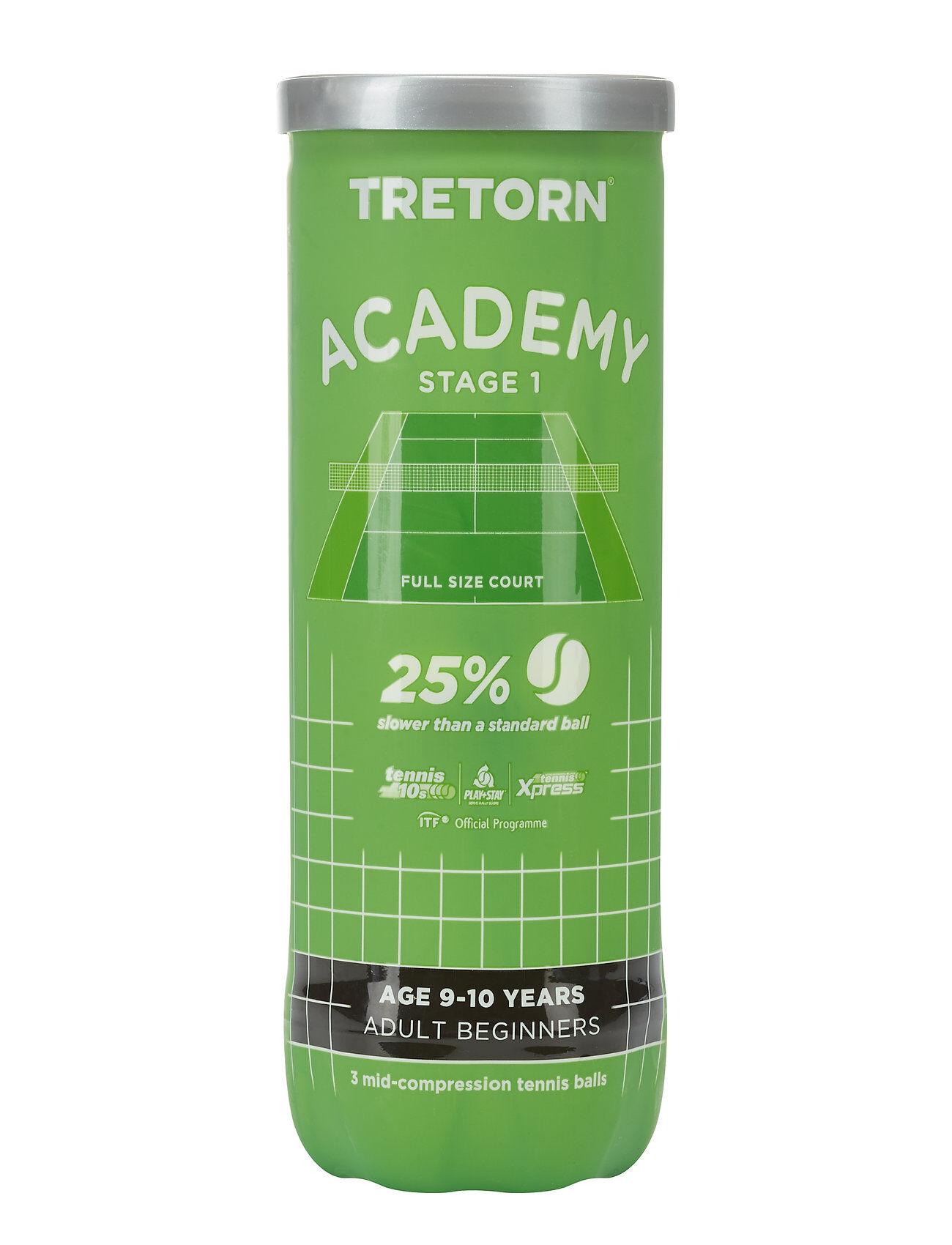 Tretorn Academy Green 3 Tube