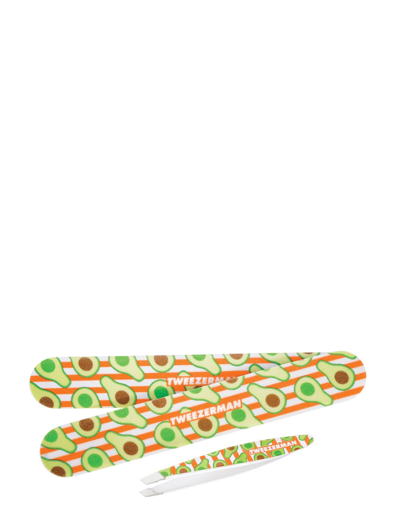 Tweezerman Avocado Duo Set Slant Tw & Nailfile