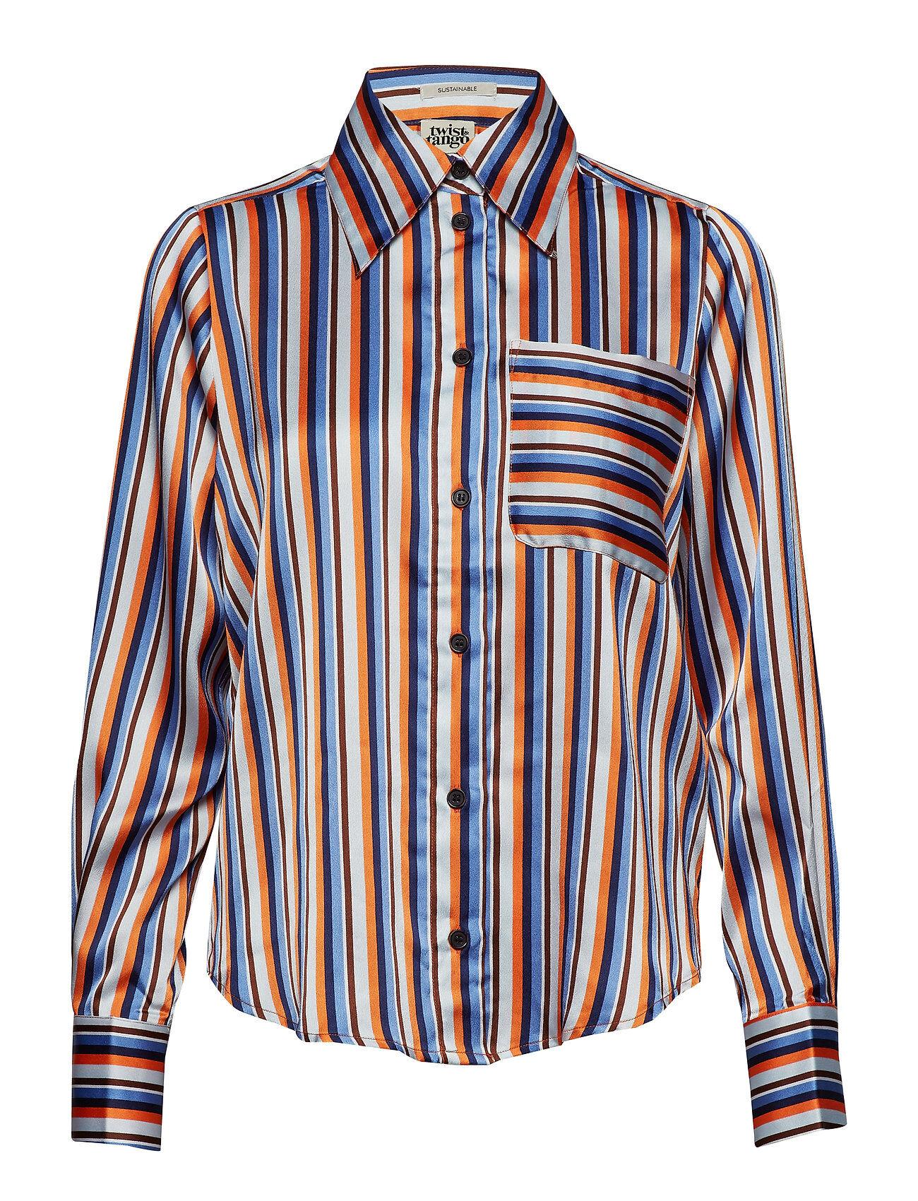 Twist & Tango Nathalie Shirt Orange Stripe