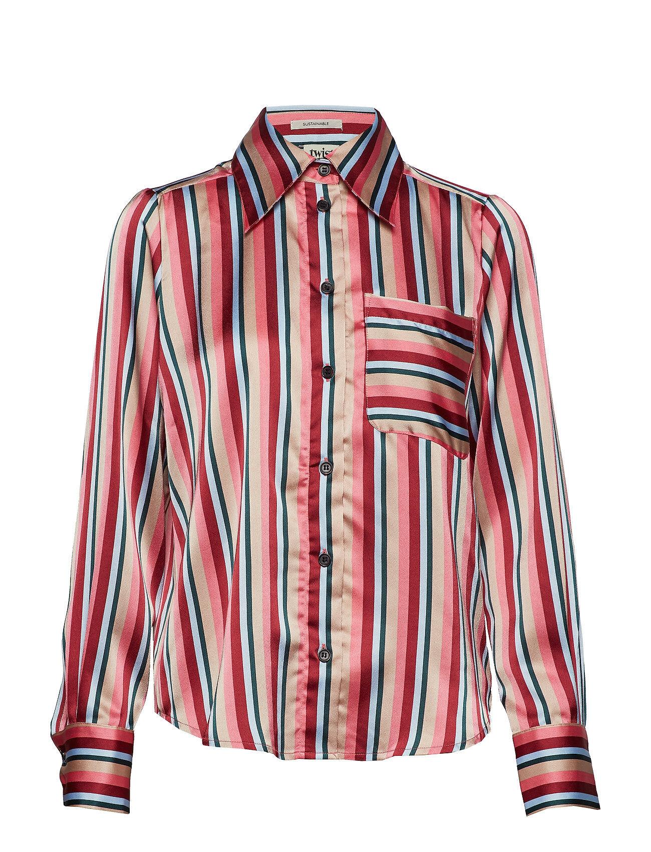 Twist & Tango Nathalie Shirt Pink Stripe