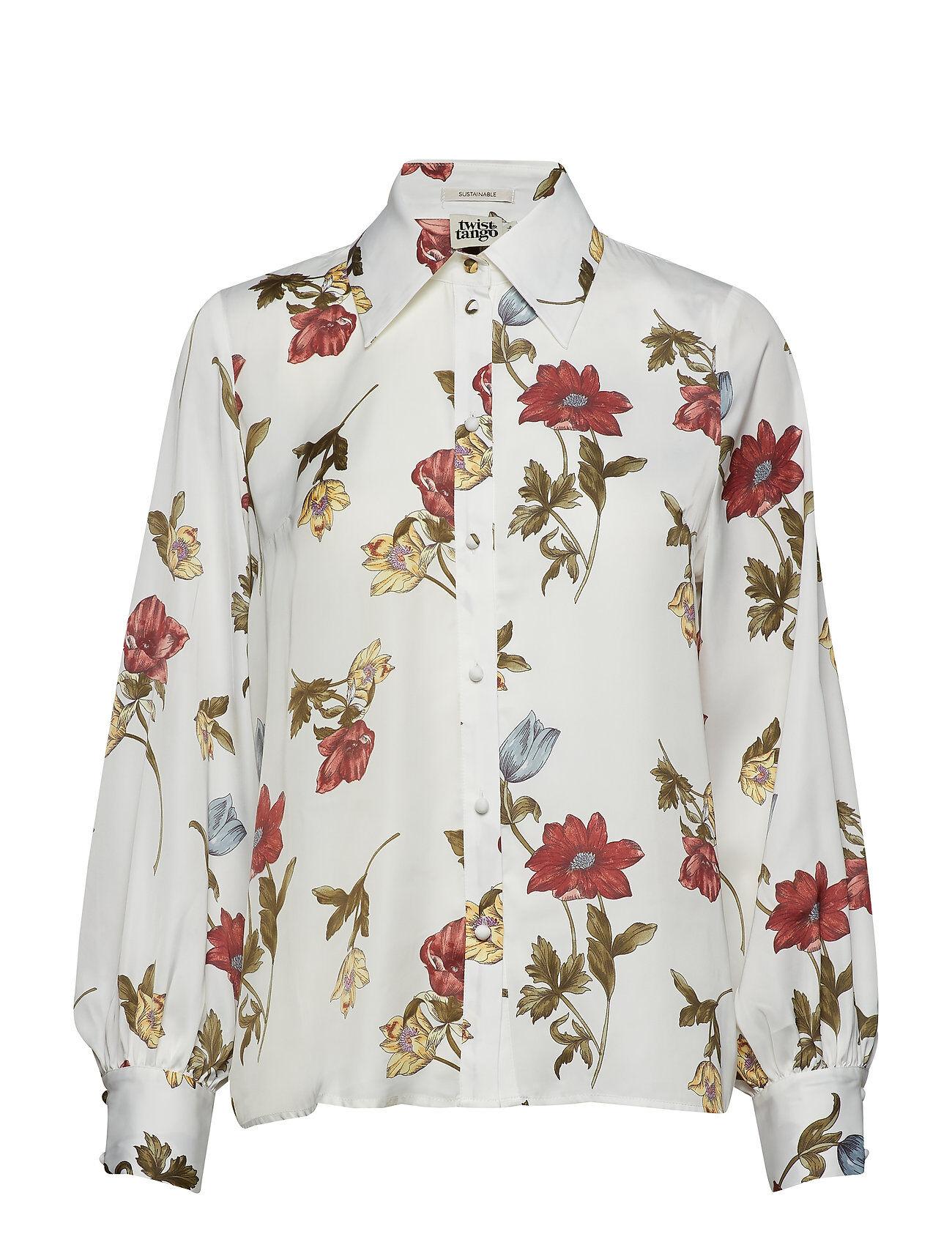 Twist & Tango Isolde Shirt White Botanical