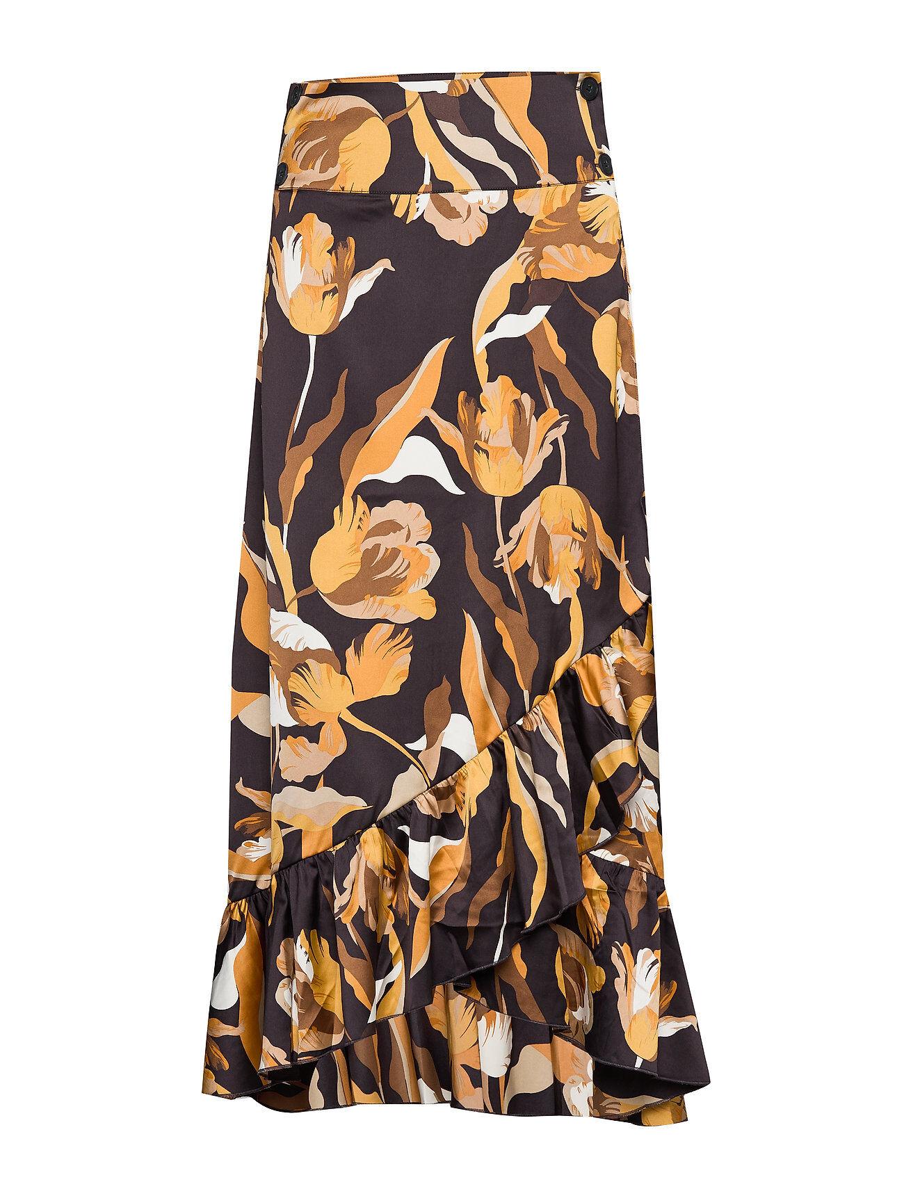 Twist & Tango Tammy Long Skirt Polvipituinen Hame Ruskea Twist & Tango