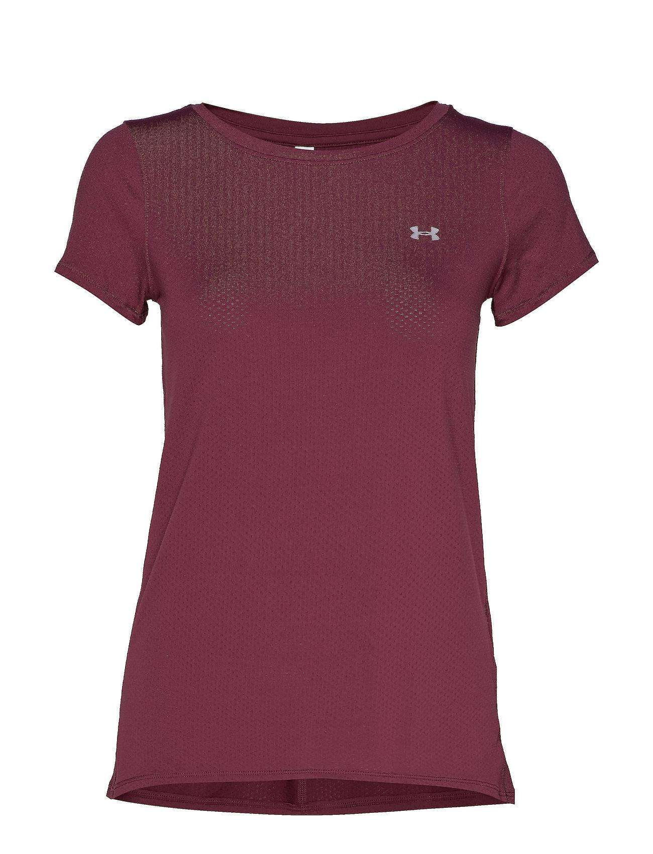 Under Armour Ua Hg Armour Ss T-shirts & Tops Short-sleeved Liila Under Armour