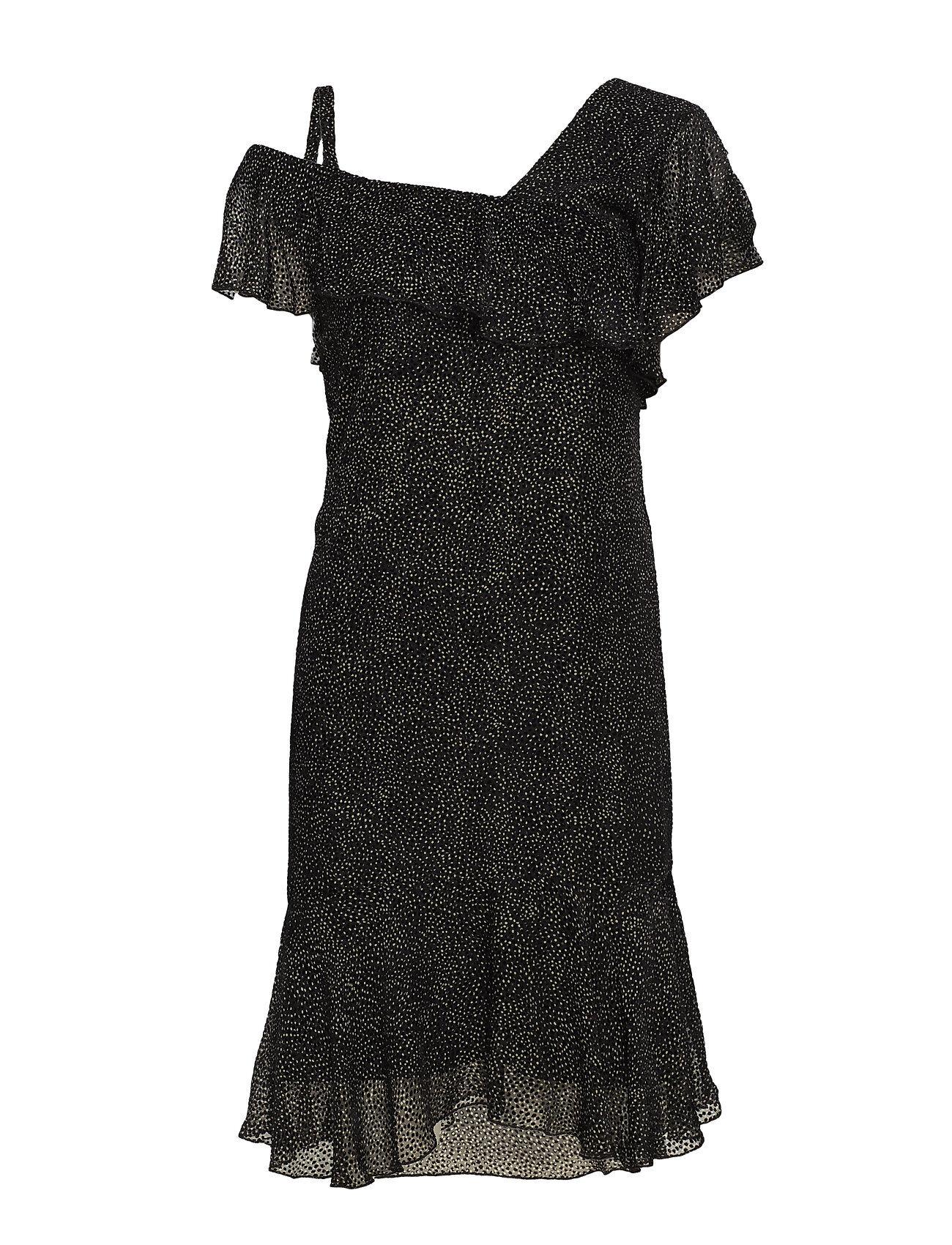 Valerie Dress Lyhyt Mekko Musta Valerie