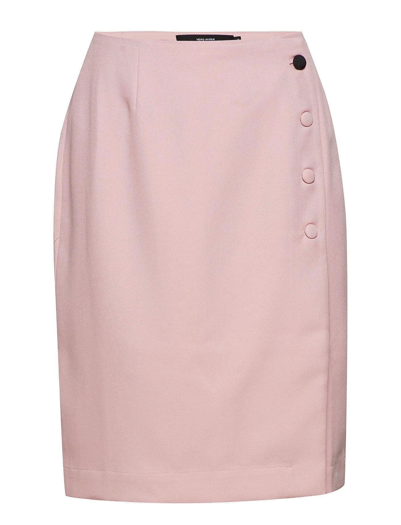 Vero Moda Vmvalinka Wrap Abk Skirt Vmc Lyhyt Hame Vaaleanpunainen Vero Moda