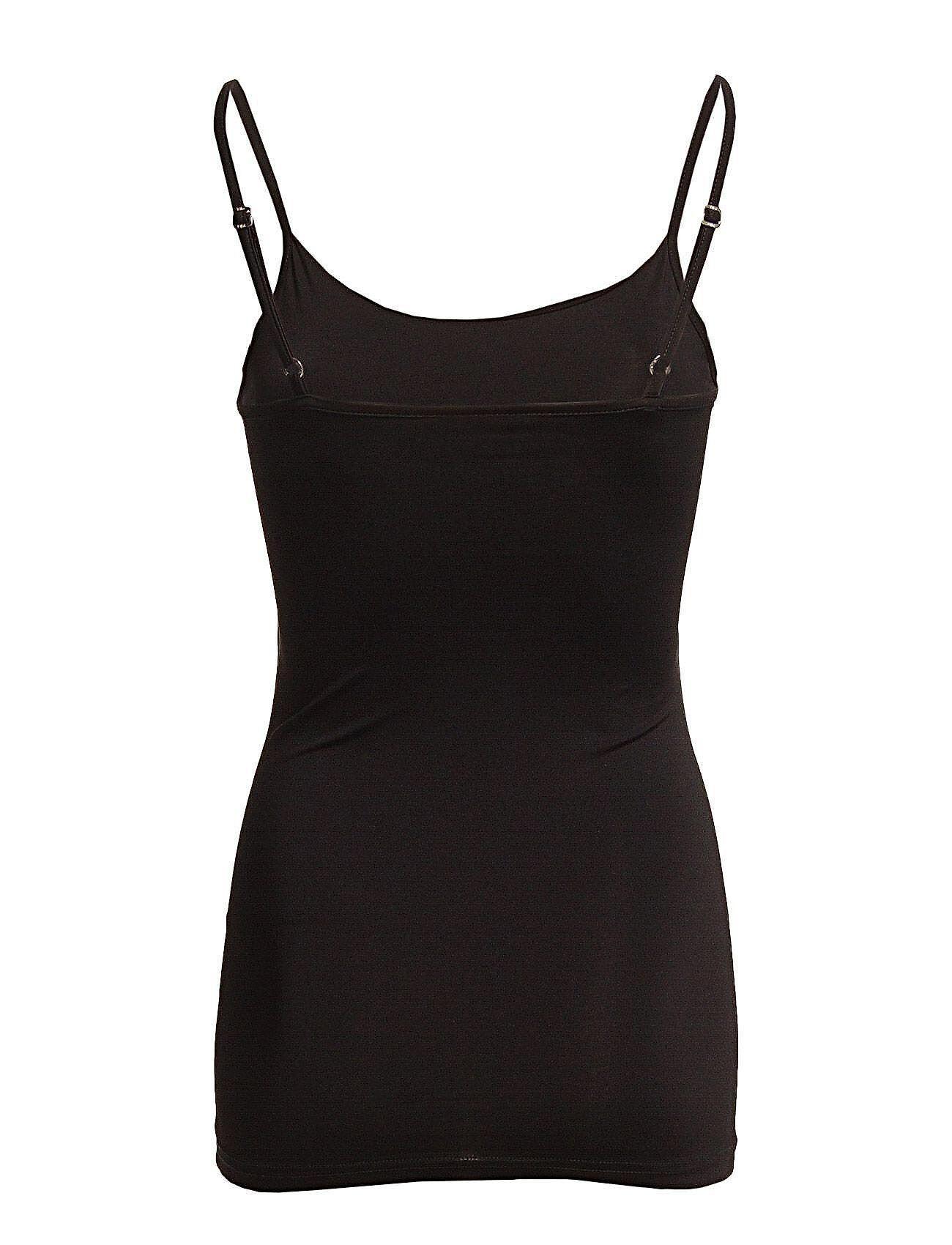 Vila Visurface Strap Top New - Noos T-shirts & Tops Sleeveless Musta Vila