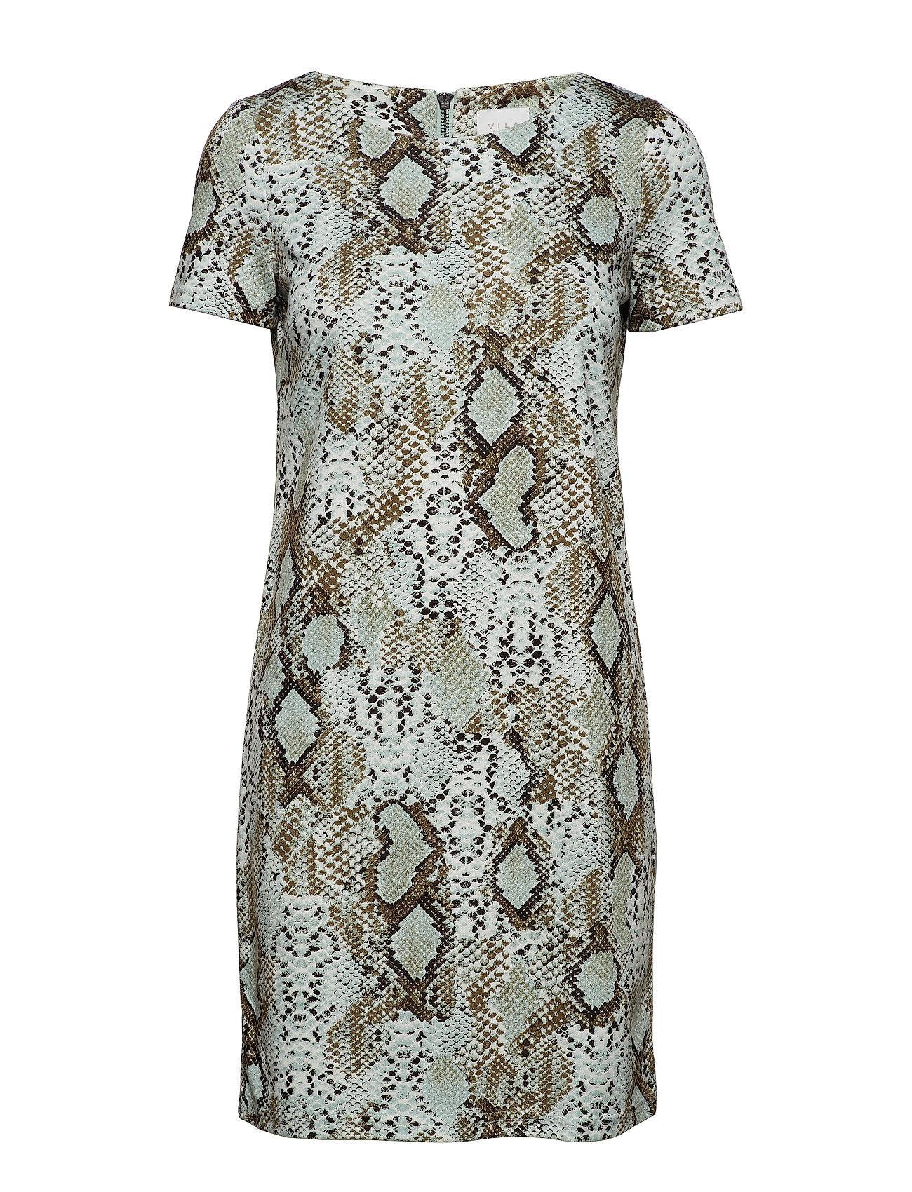 Image of VILA Vitinny New S/S Dress - Lux Lyhyt Mekko Sininen VILA