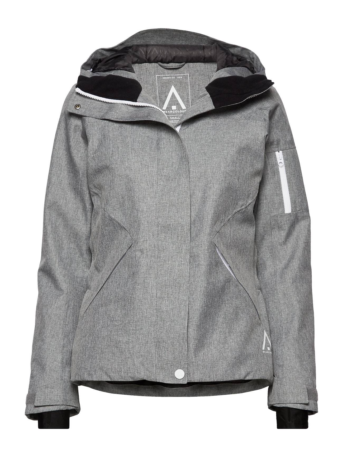 WearColour Base Jacket Outerwear Sport Jackets Harmaa WearColour