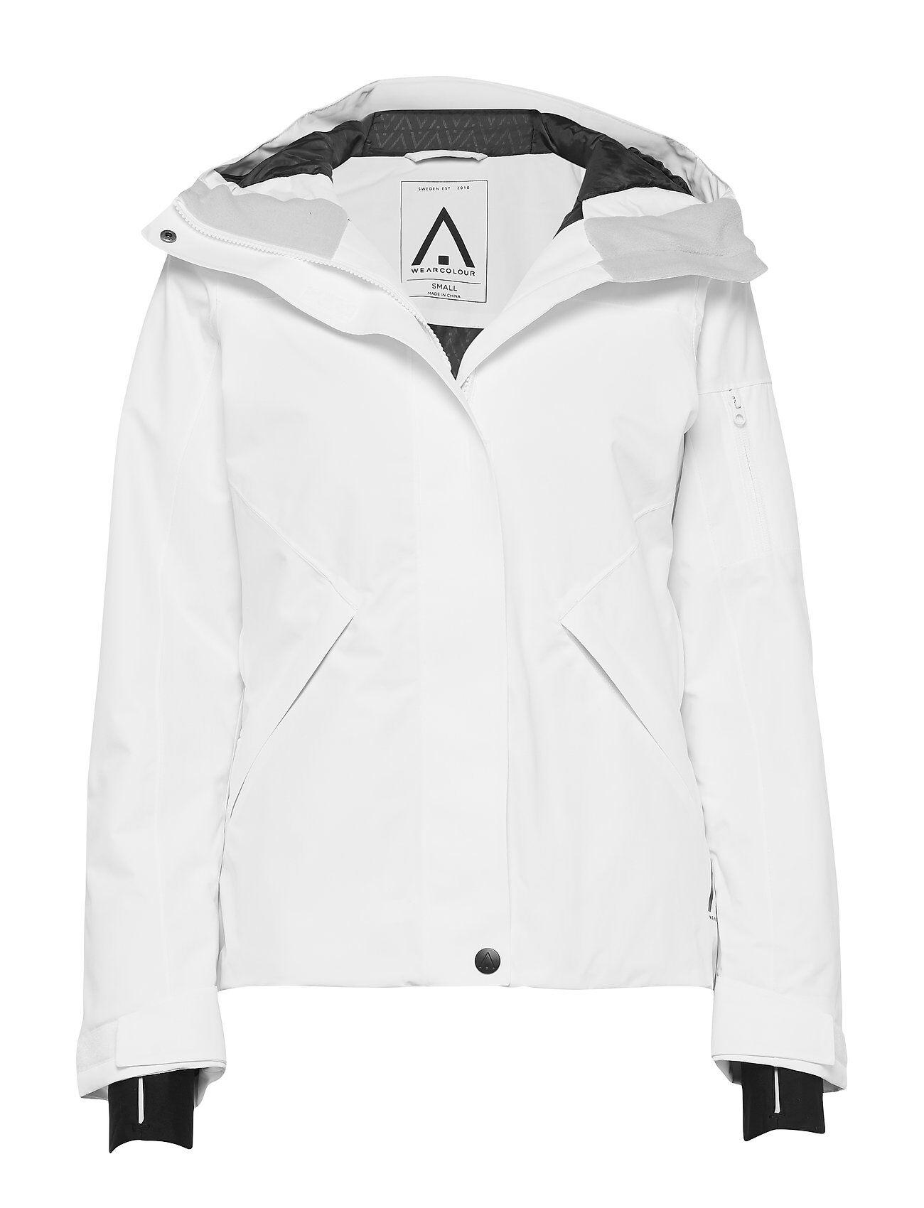 WearColour Base Jacket Outerwear Sport Jackets Valkoinen WearColour