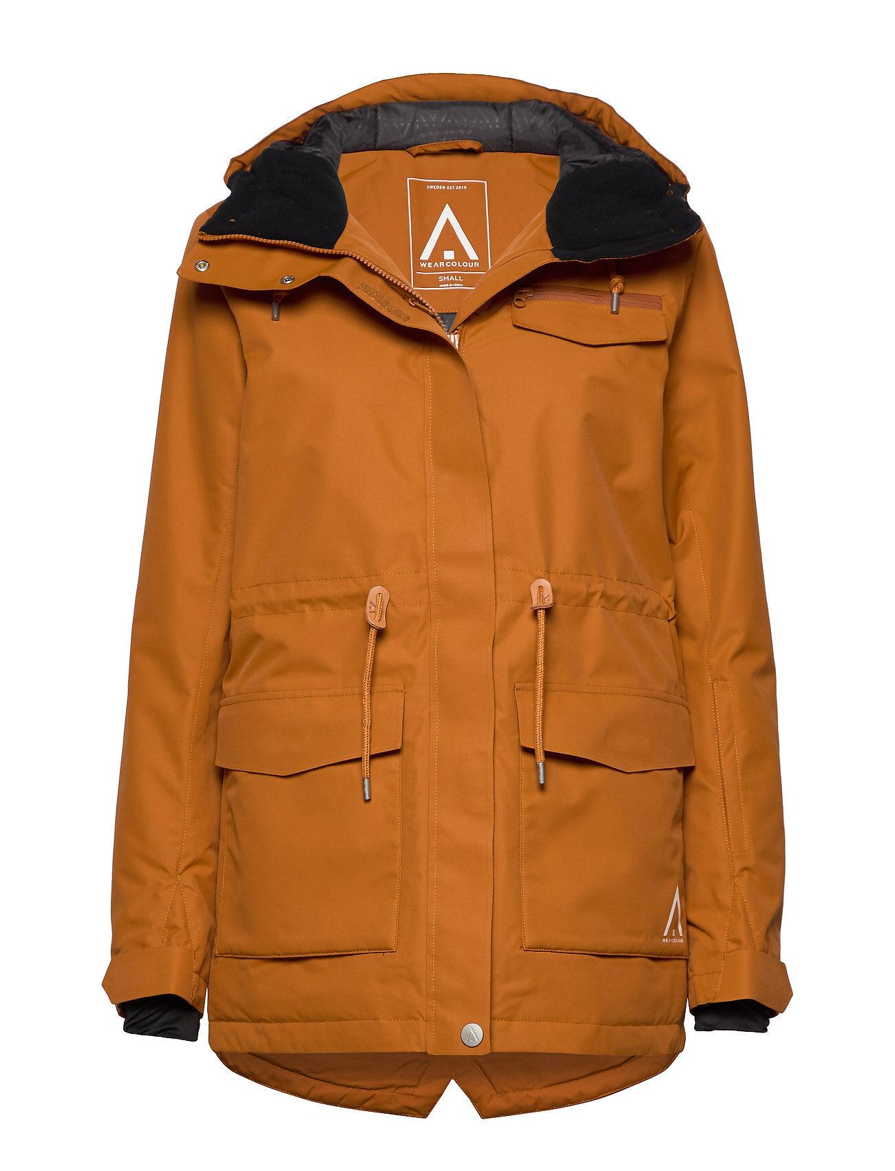 WearColour State Parka Outerwear Sport Jackets Oranssi WearColour