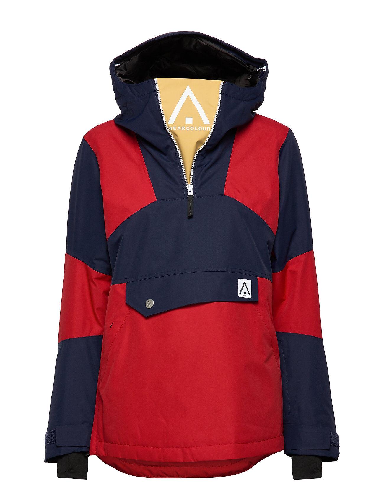 WearColour Homage Anorak Outerwear Sport Jackets Monivärinen/Kuvioitu WearColour