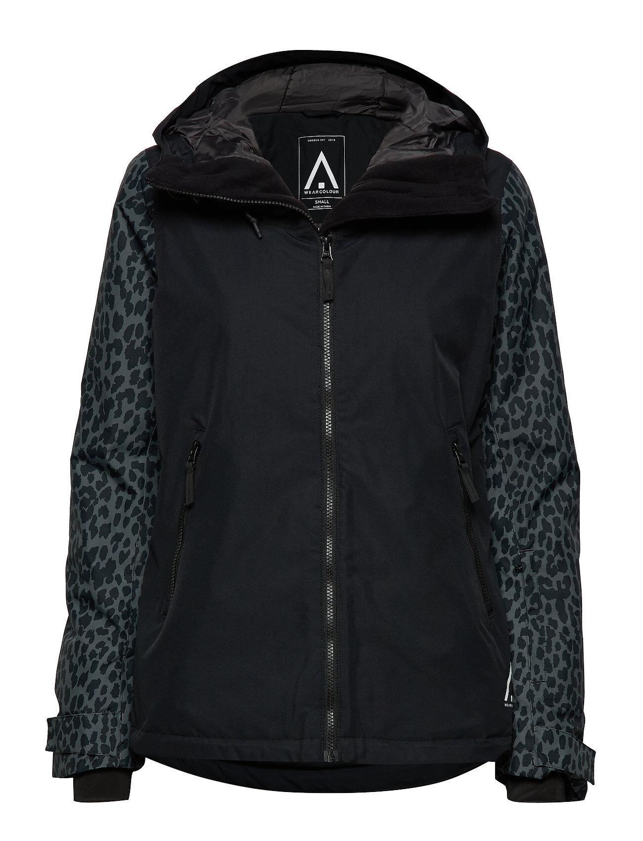 WearColour Cake Jacket Outerwear Sport Jackets Musta WearColour