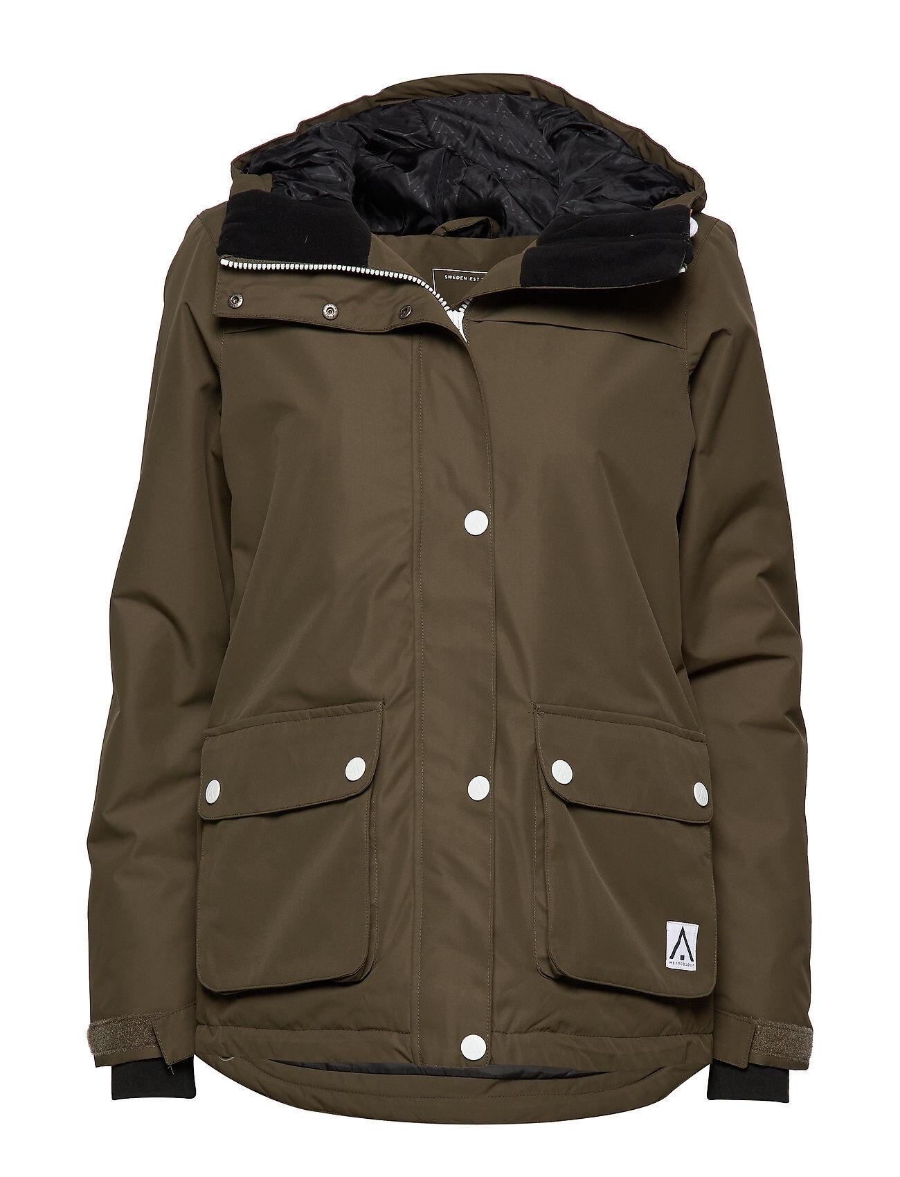 WearColour Ida Jacket Outerwear Sport Jackets Vihreä WearColour