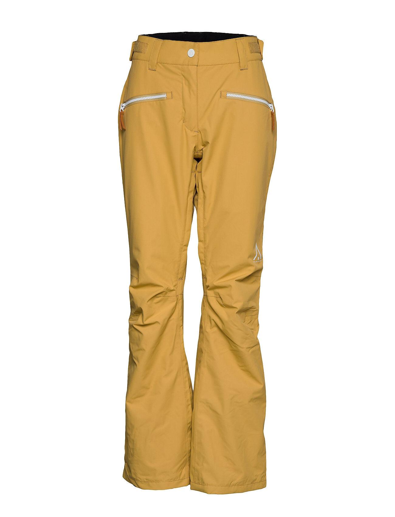 WearColour Cork Pant Sport Pants Keltainen WearColour