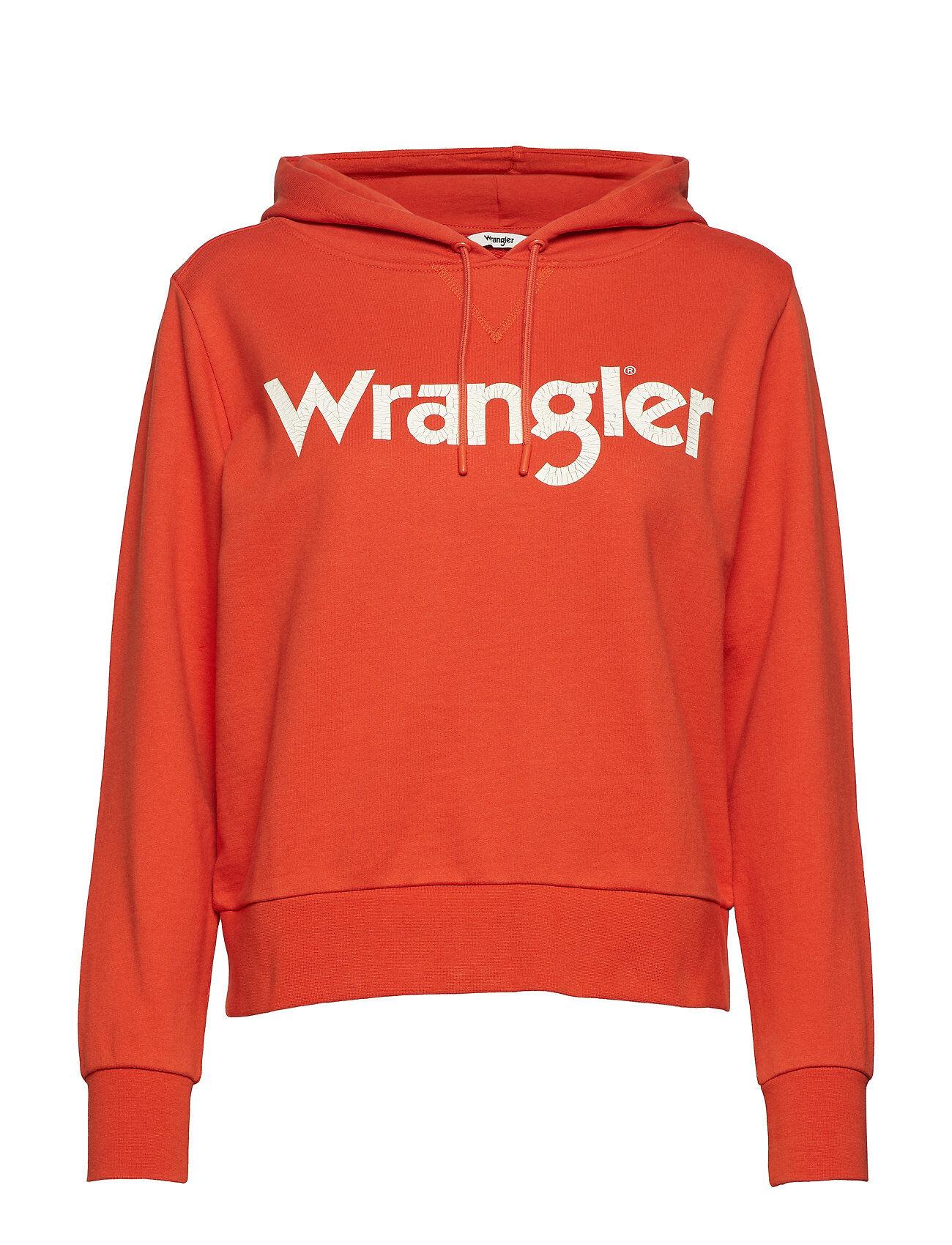 Wrangler Logo Hoody
