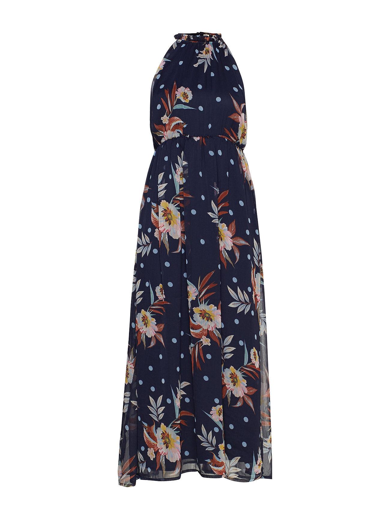 Image of Yassolira Chiffon Maxi Dress - Da Maksimekko Juhlamekko Sininen YAS