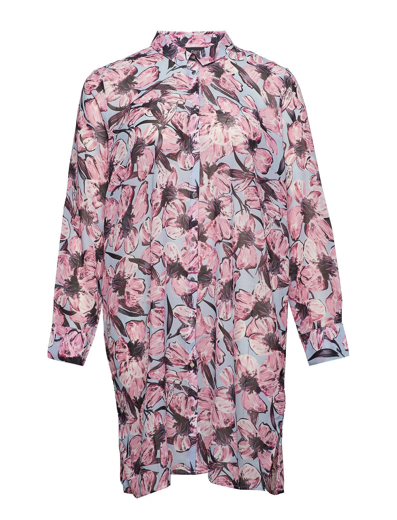 Zizzi %Xmarley, L/S, Long Shirt