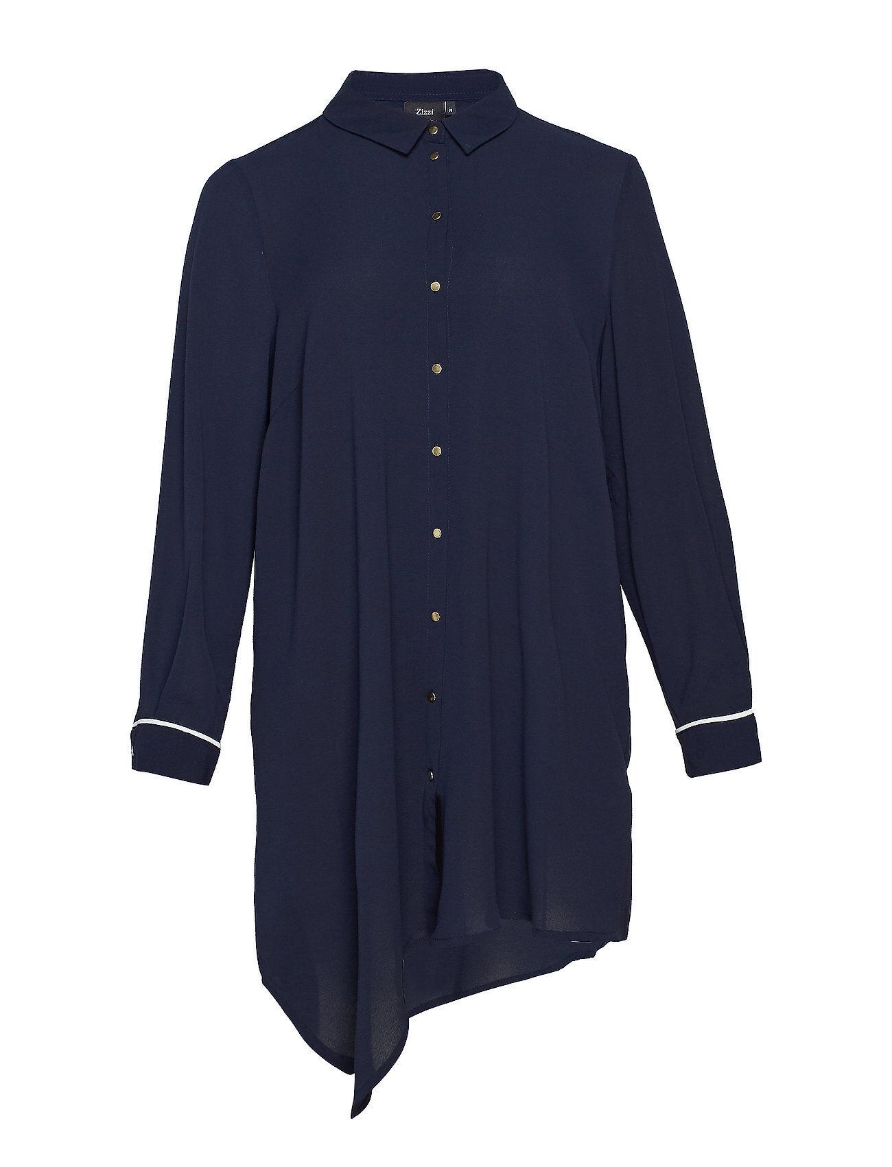 Zizzi Mmya Tana, L/S, Dress