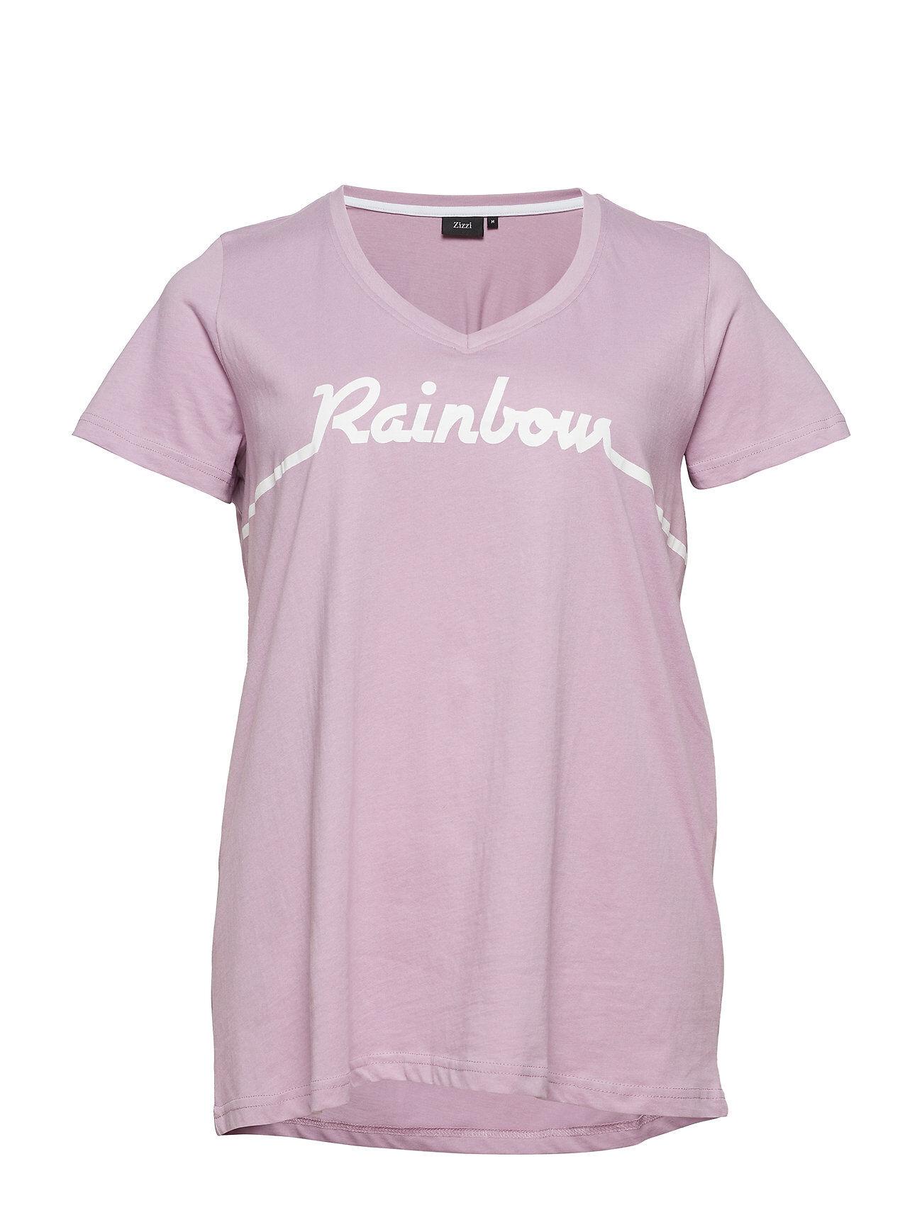 Zizzi Mstepahnie, S/S, T-Shirt