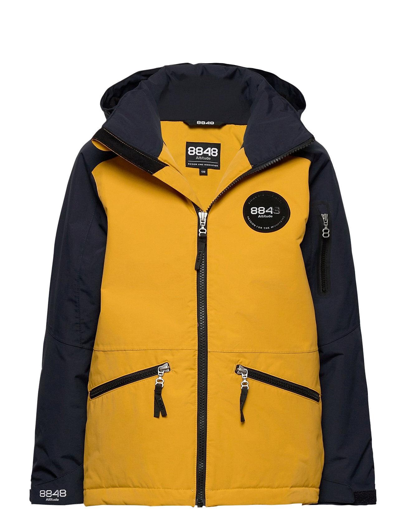 8848 Altitude Ashton Jr Jacket Outerwear Snow/ski Clothing Snow/ski Jacket Keltainen 8848 Altitude