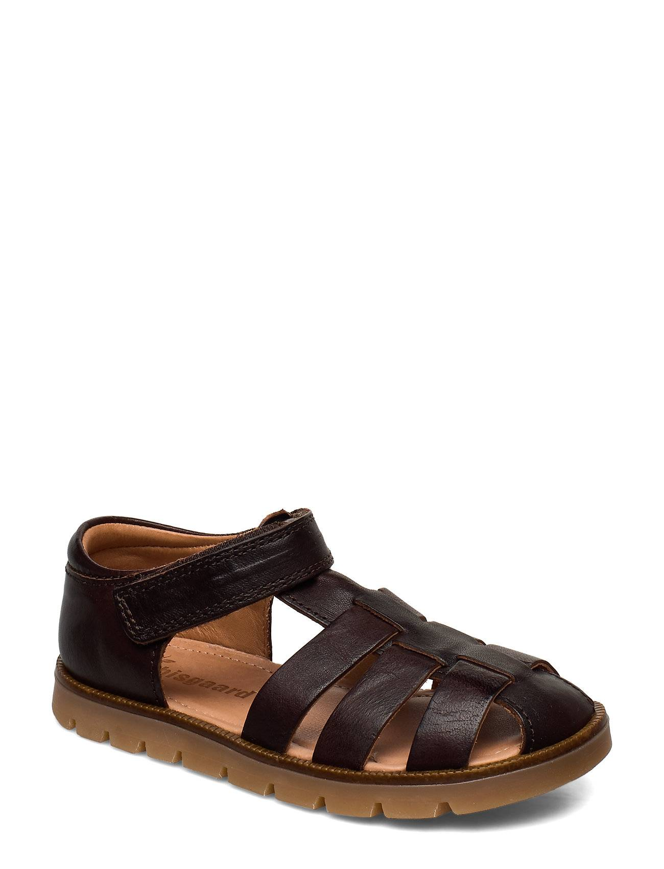Bisgaard Beka Shoes Summer Shoes Sandals Ruskea Bisgaard
