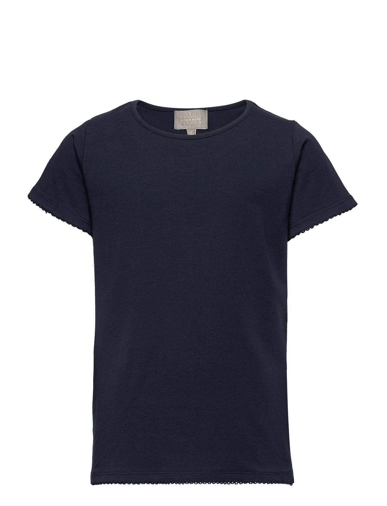 Creamie T-Shirt Ss T-shirts Short-sleeved Sininen Creamie