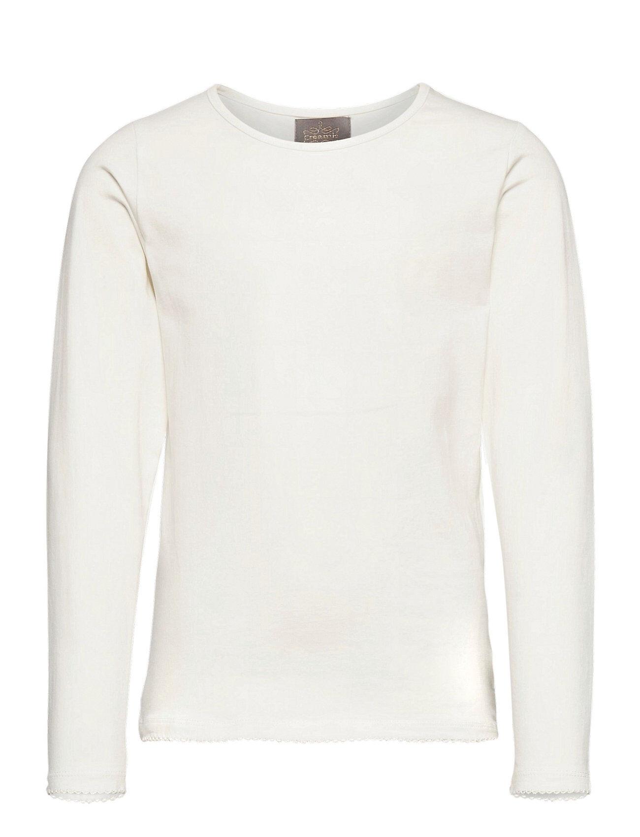 Creamie T-Shirt Ls T-shirts Long-sleeved T-shirts Kermanvärinen Creamie