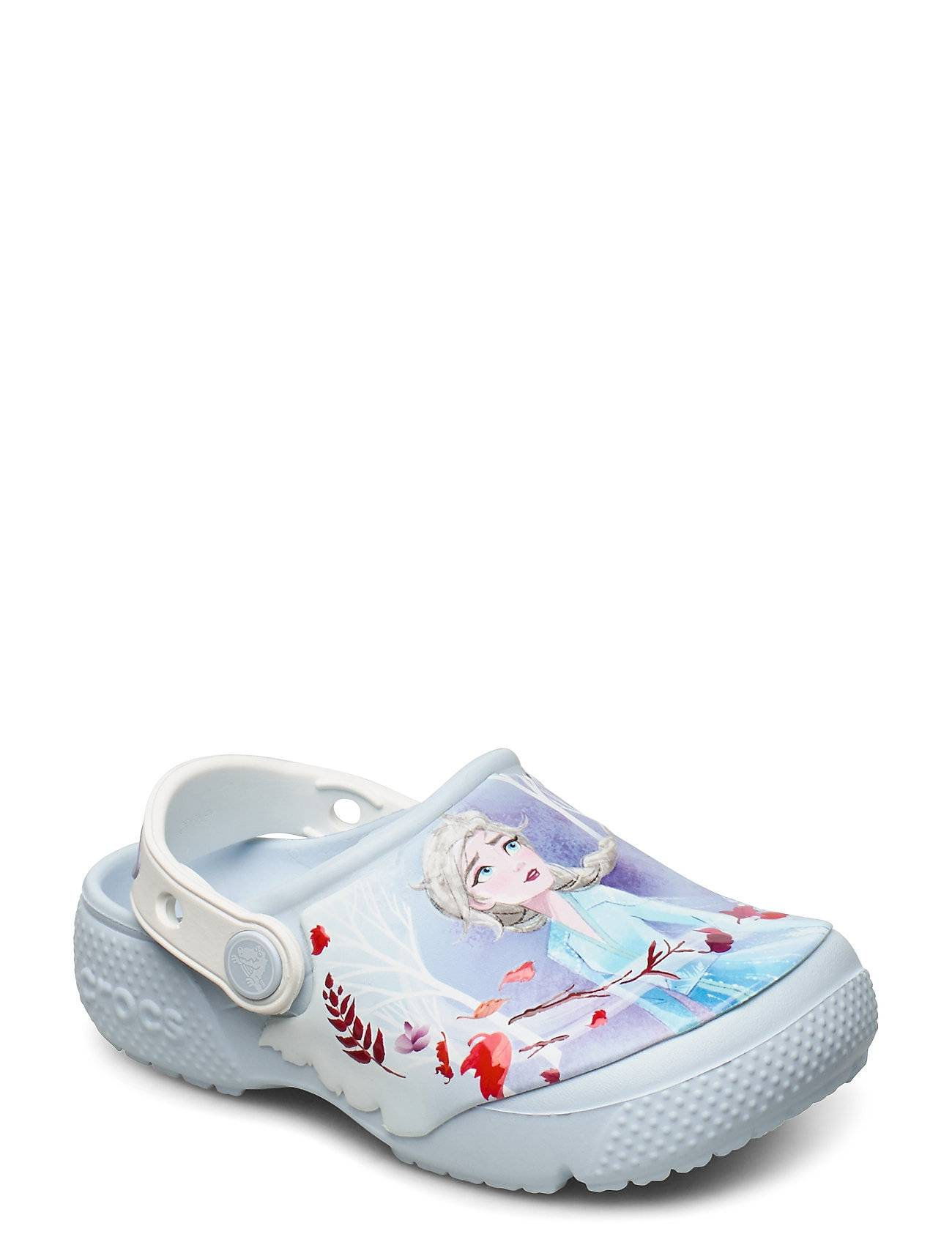 Crocs Fl Disney Frozen 2 Clg K Shoes Crocs Valkoinen Crocs