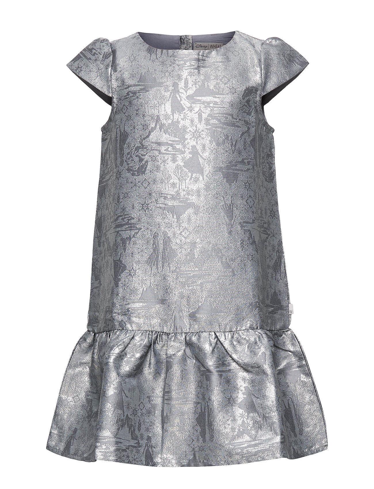Disney Jacquard Dress Frozen Mekko Harmaa Disney By Wheat