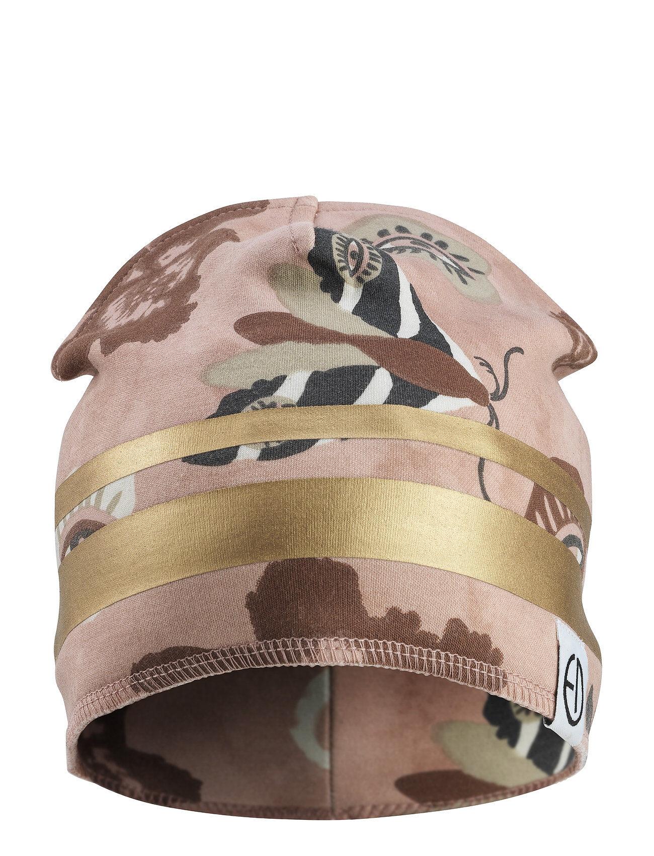Elodie Details Winter Beanie - Midnight Eye Accessories Headwear Hats Vaaleanpunainen Elodie Details