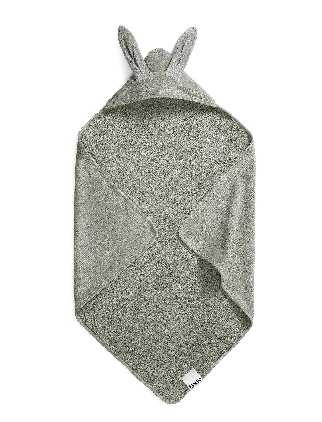 Elodie Details Hooded Towel - Mineral Green Bunny Home Bath Time Vihreä Elodie Details
