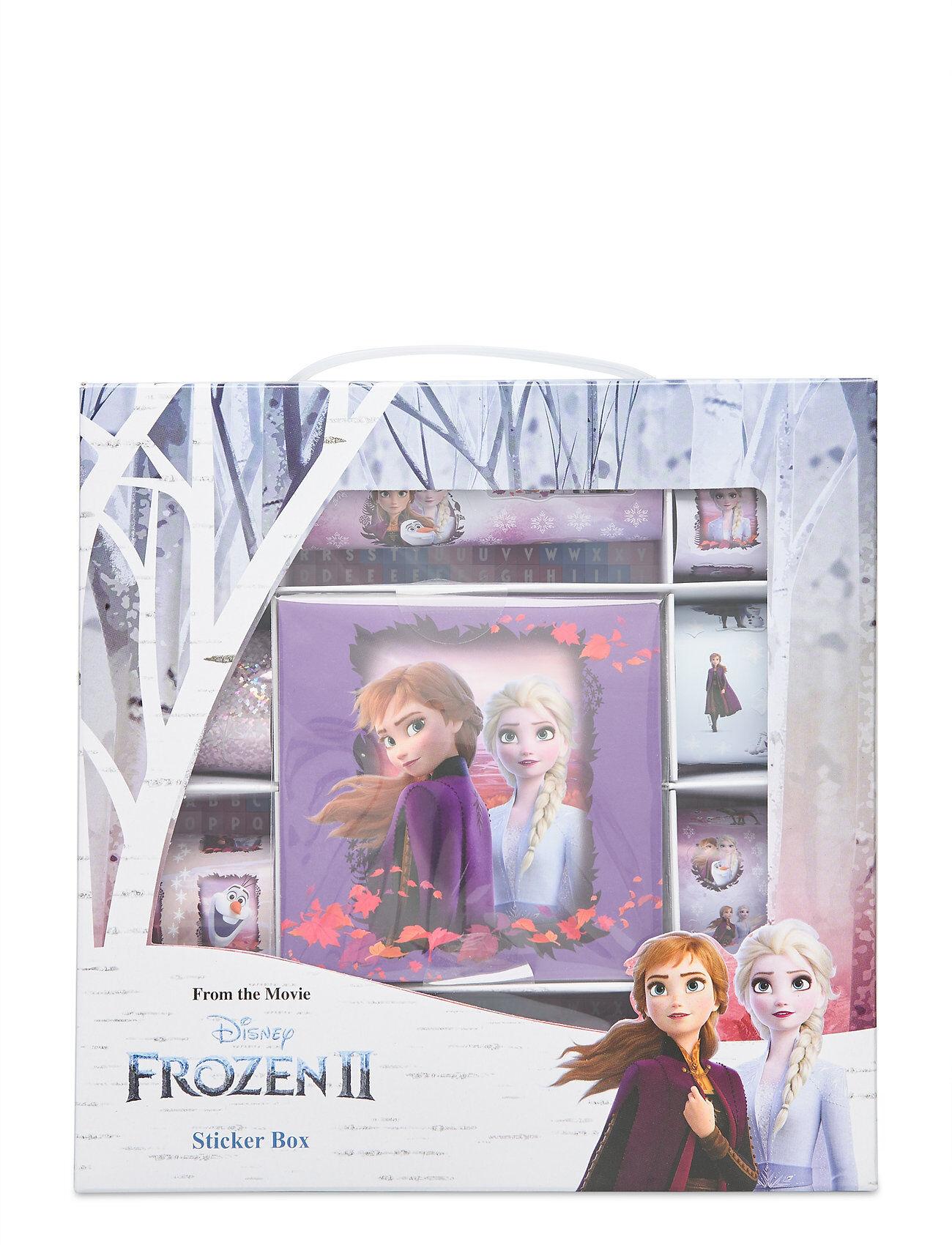 Disney Frozen 2 Sticker Gift Box Home Toys Monivärinen/Kuvioitu Disney Frozen