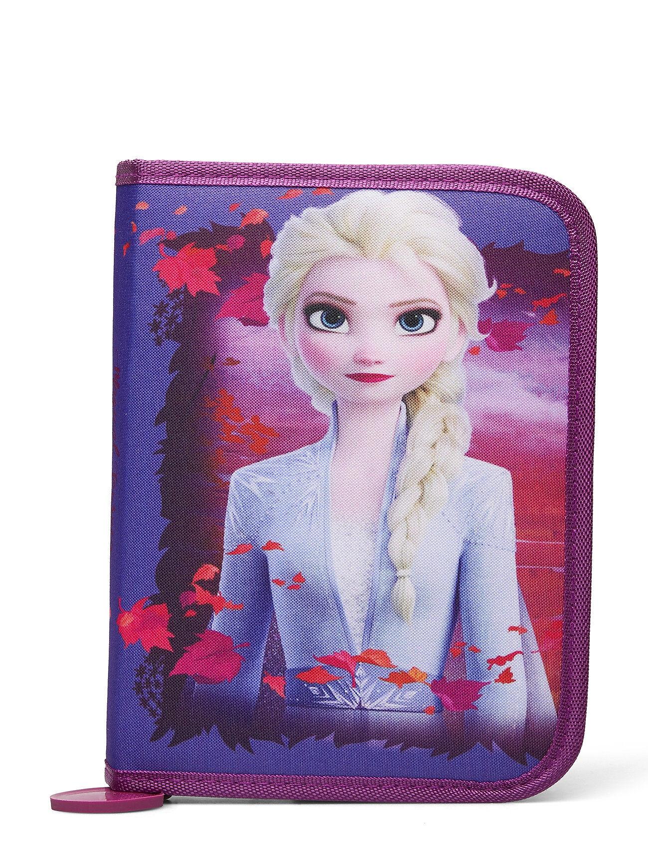 Disney Frozen 2 Filled Single Decker Accessories Bags Pencil Cases Liila Disney Frozen