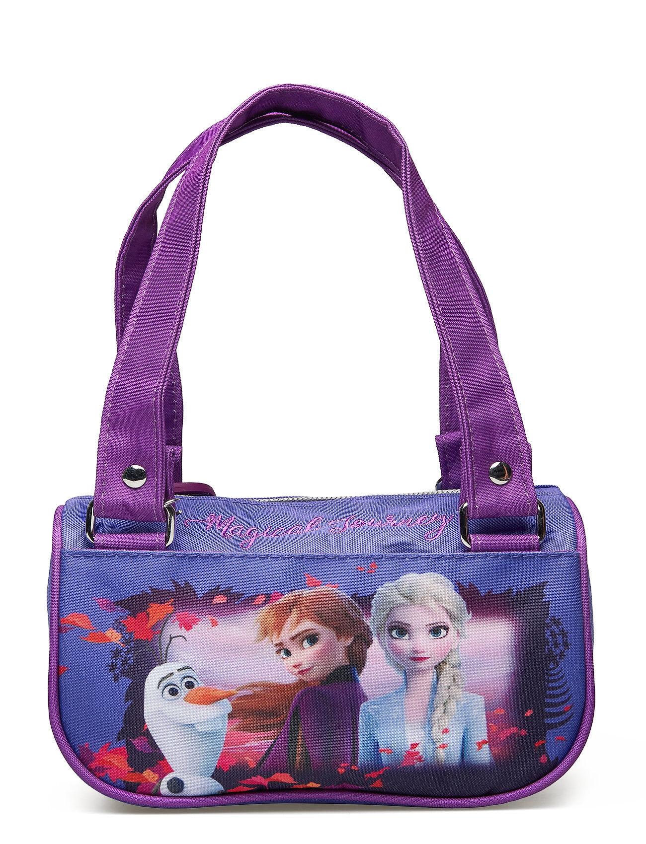 Disney Frozen 2 Small Handbag Tote Laukku Liila Disney Frozen