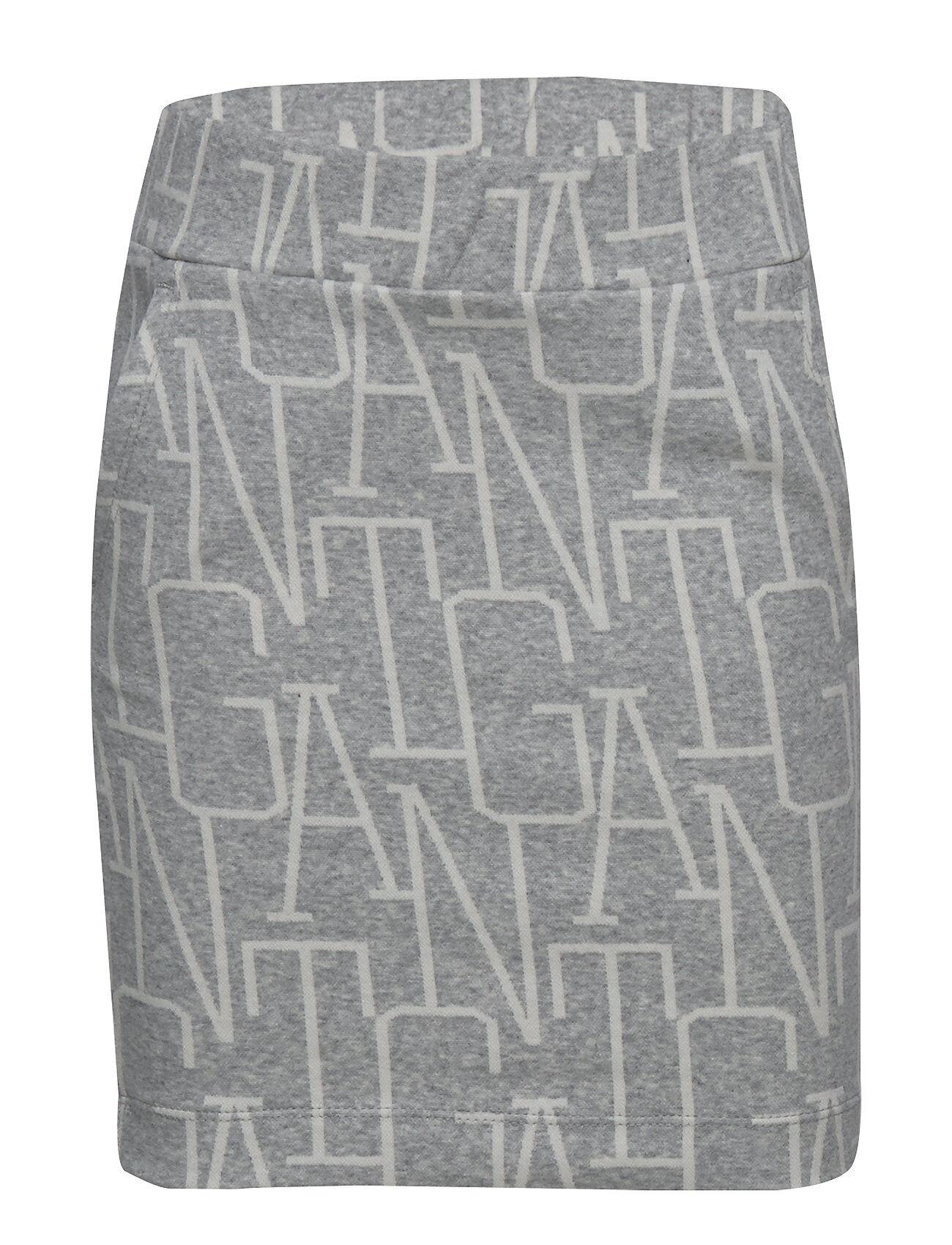 GANT D1. Allover Gant Jersey Skirt Hame Harmaa GANT