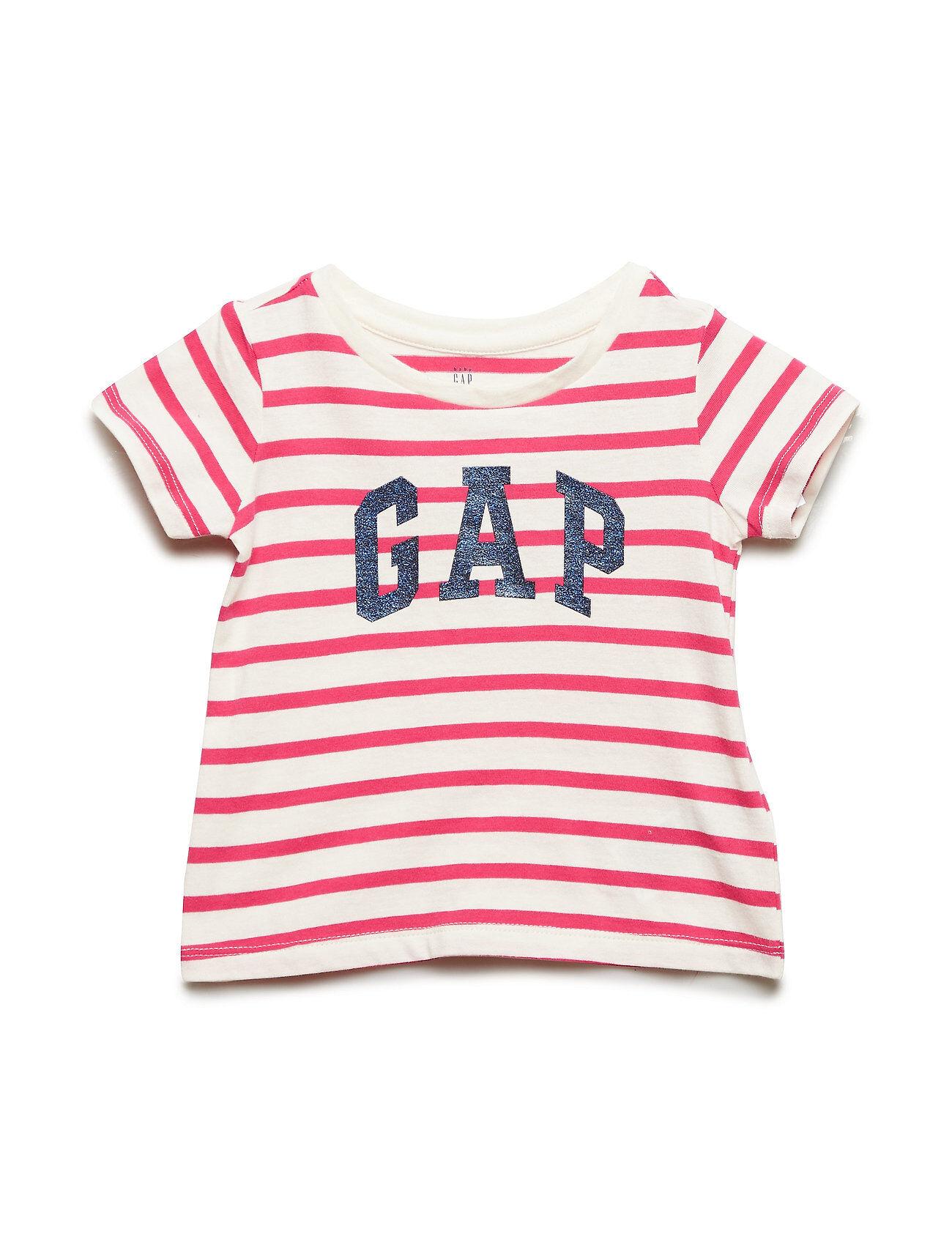 GAP Sh Jpn Excl Golden Wk Gr T T-shirts Short-sleeved Vaaleanpunainen