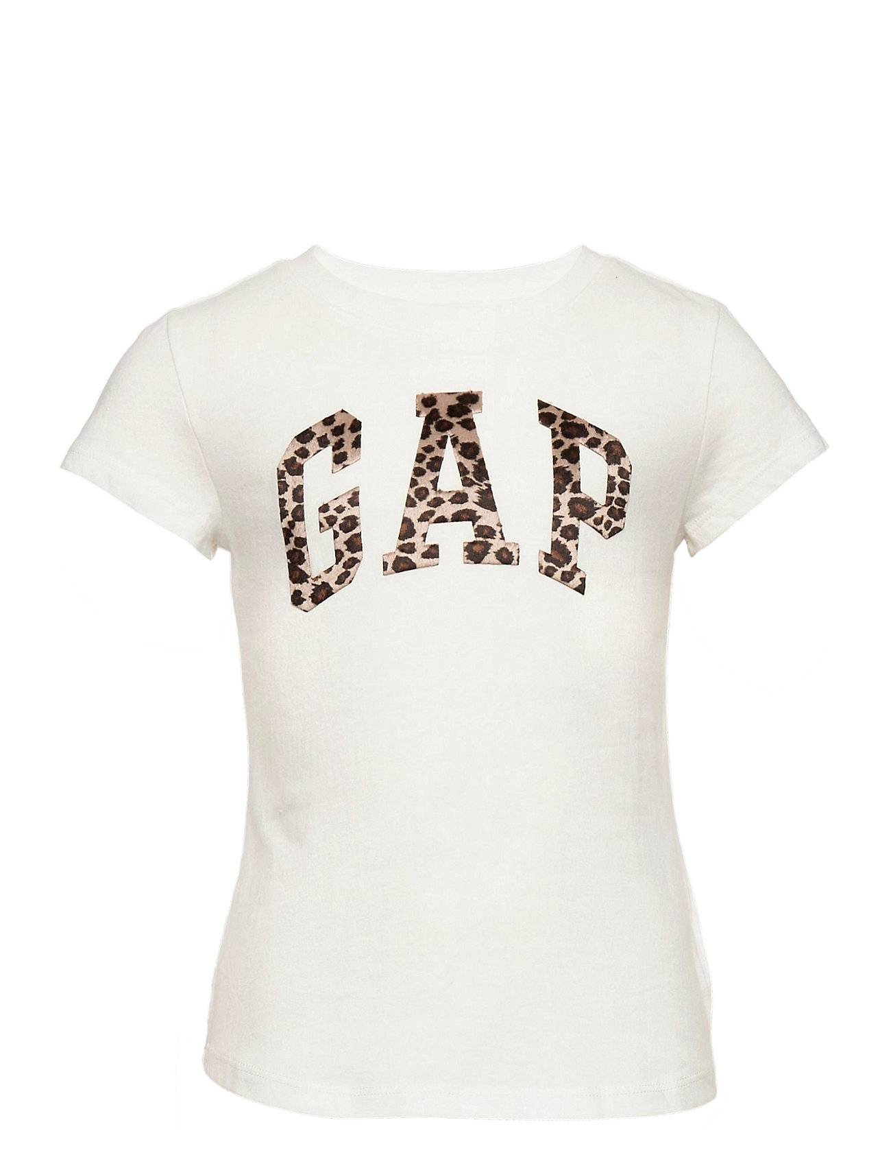 GAP Ie Better Logo Tee T-shirts Short-sleeved Valkoinen GAP