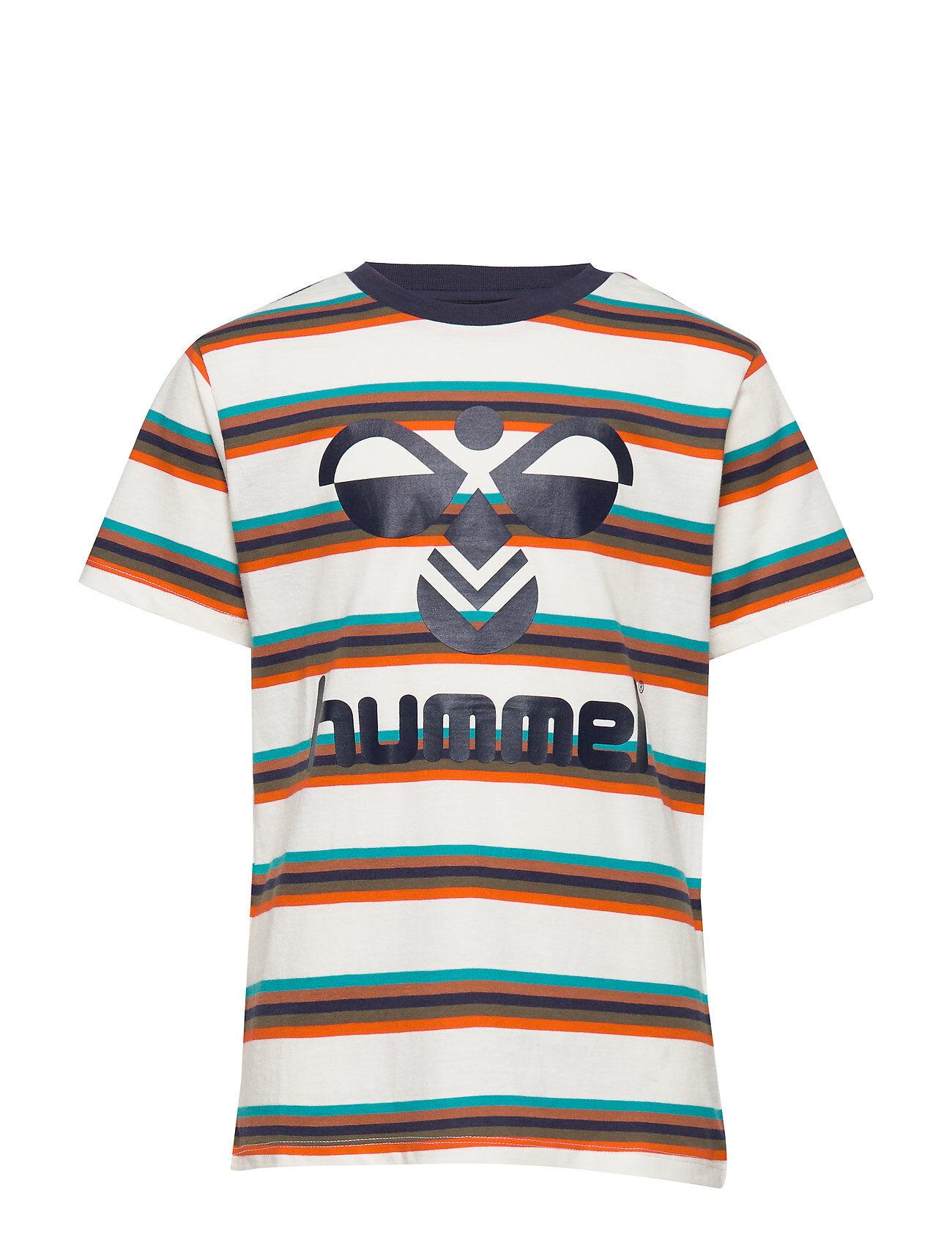 Hummel Hmlpreston T-Shirt S/S T-shirts Short-sleeved Monivärinen/Kuvioitu Hummel