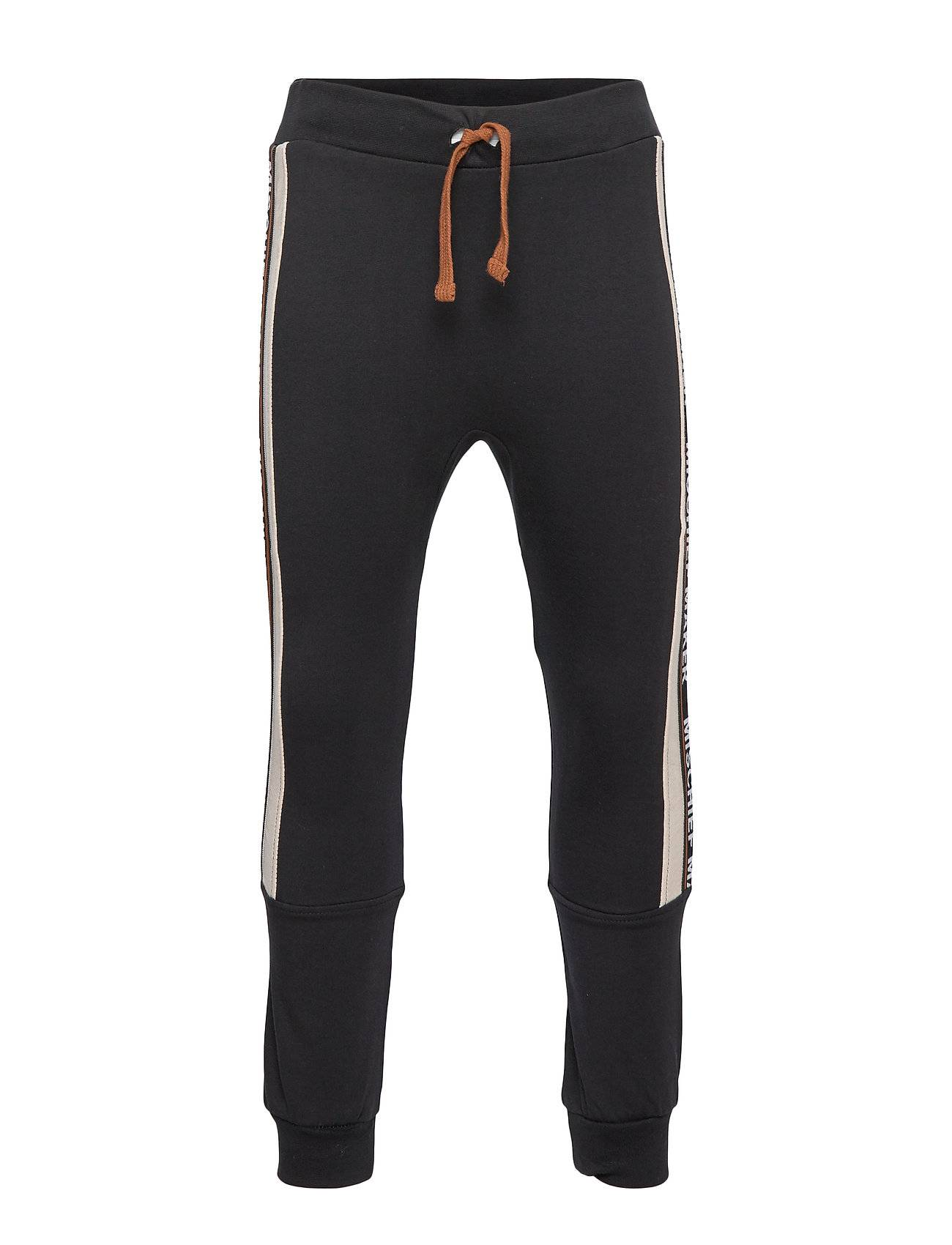 Hust & Claire Godtfred - Jogging Trousers Collegehousut Olohousut Musta Hust & Claire