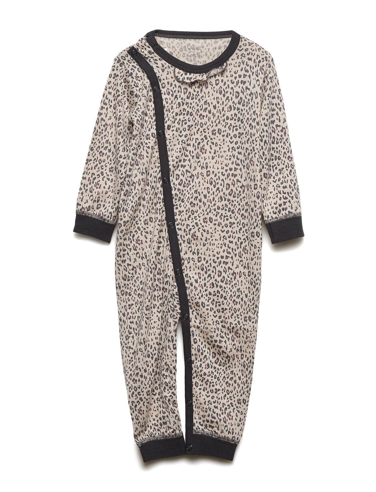 Hust & Claire Mija - Nightwear Pyjama Sie Jumpsuit Haalari Harmaa Hust & Claire