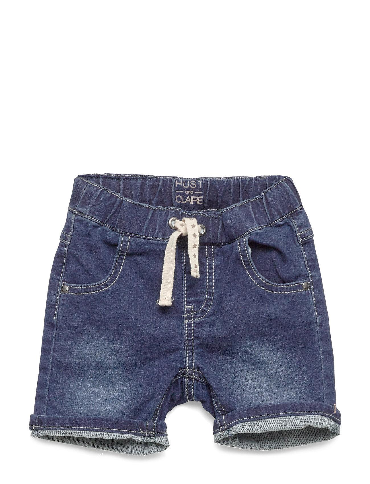 Hust & Claire Jes - Bermuda Shorts Shortsit Sininen Hust & Claire