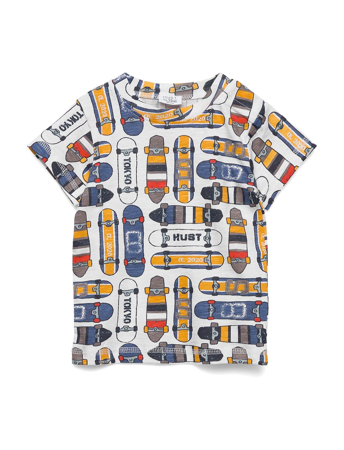 Hust & Claire Arthur - T-Shirt T-shirts Short-sleeved Monivärinen/Kuvioitu Hust & Claire