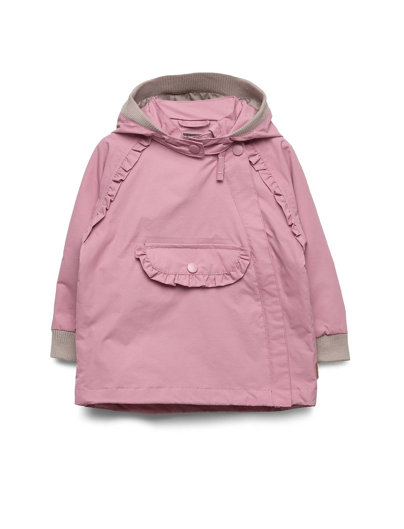 Hust & Claire Obia - Jacket Outerwear Rainwear Jackets Vaaleanpunainen Hust & Claire
