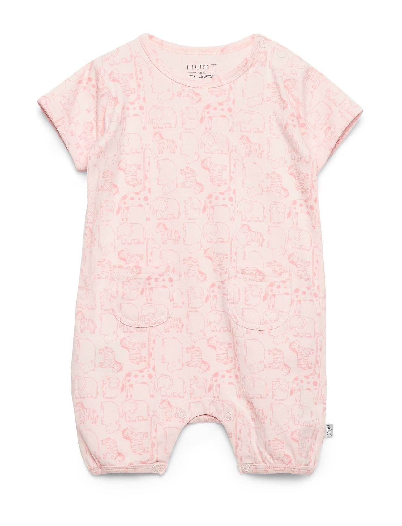 Hust & Claire Mali- Jumpsuit Bodysuits Short-sleeved Vaaleanpunainen Hust & Claire